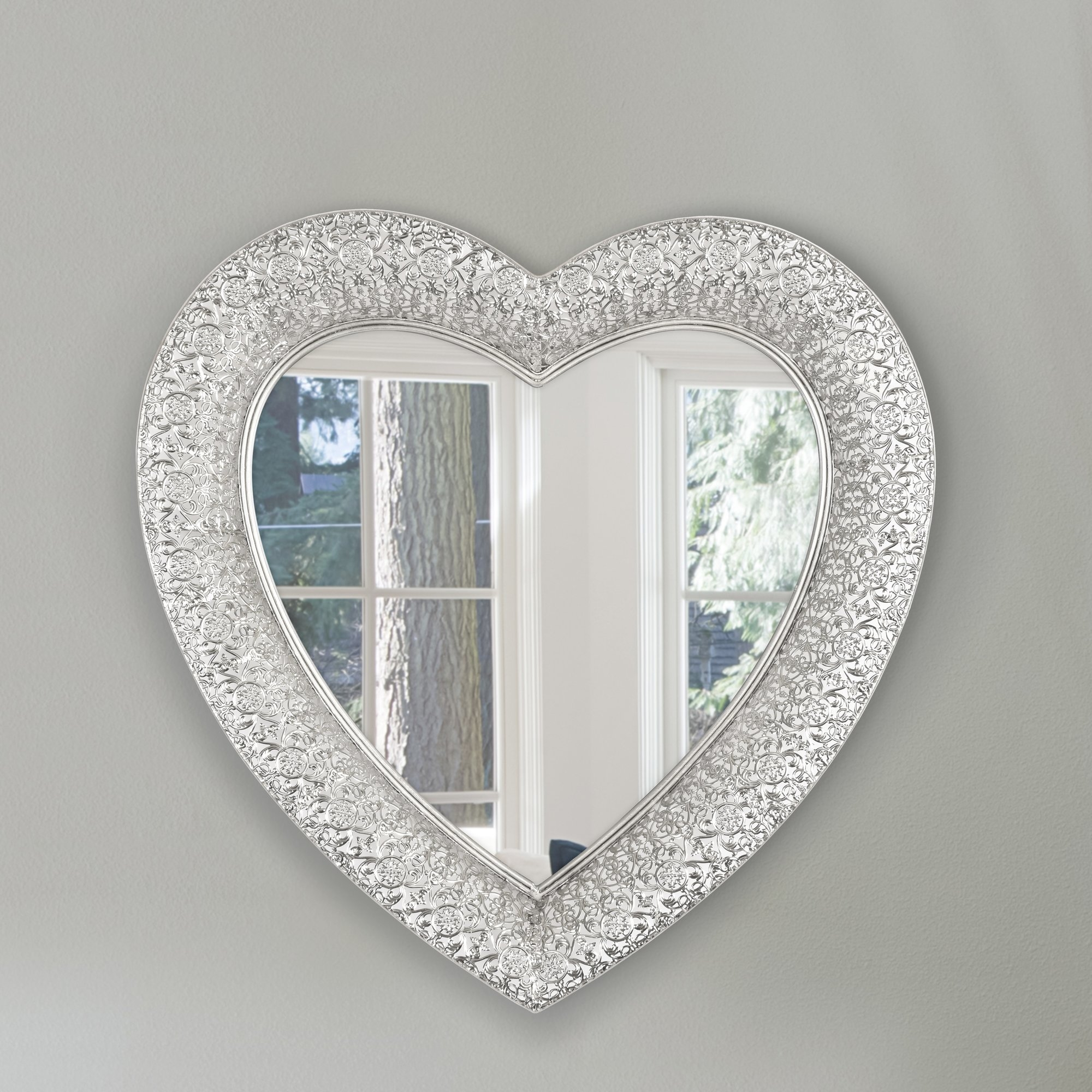 Selections Chaumont Marrakesh Heart Wall Mirror Reviews Wayfair In Heart Wall Mirror (Image 12 of 15)