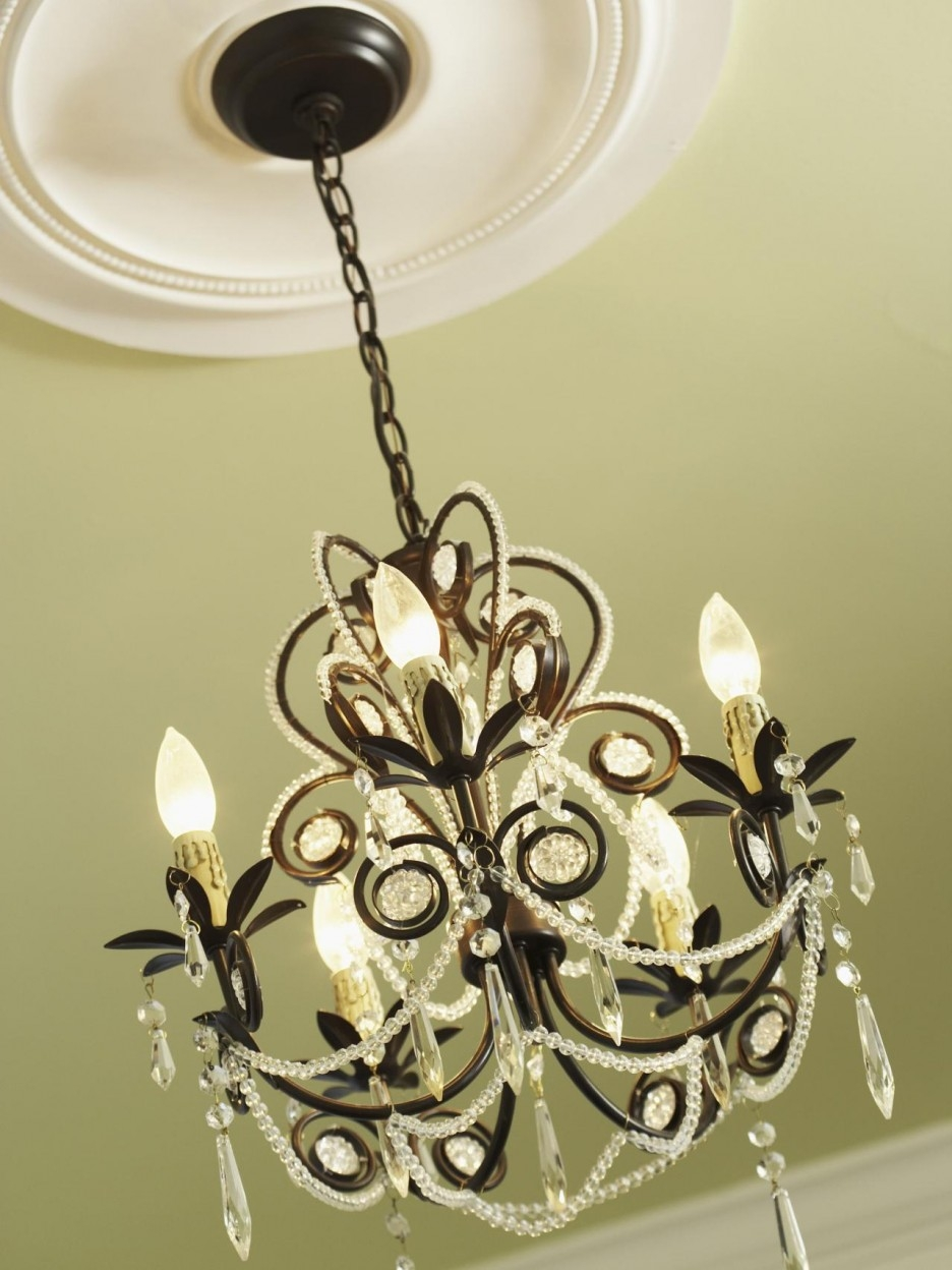Sensational Home Interior Home Accessories Decoration Introducing Throughout Chandelier Accessories (Image 15 of 15)