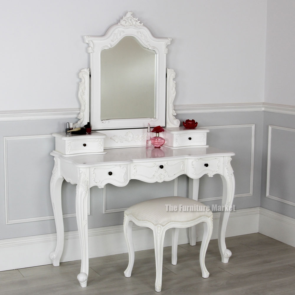 Shab Chic Living Room San48 W San12 W French Chateau White In Cheap Shabby Chic Mirrors (Image 12 of 15)