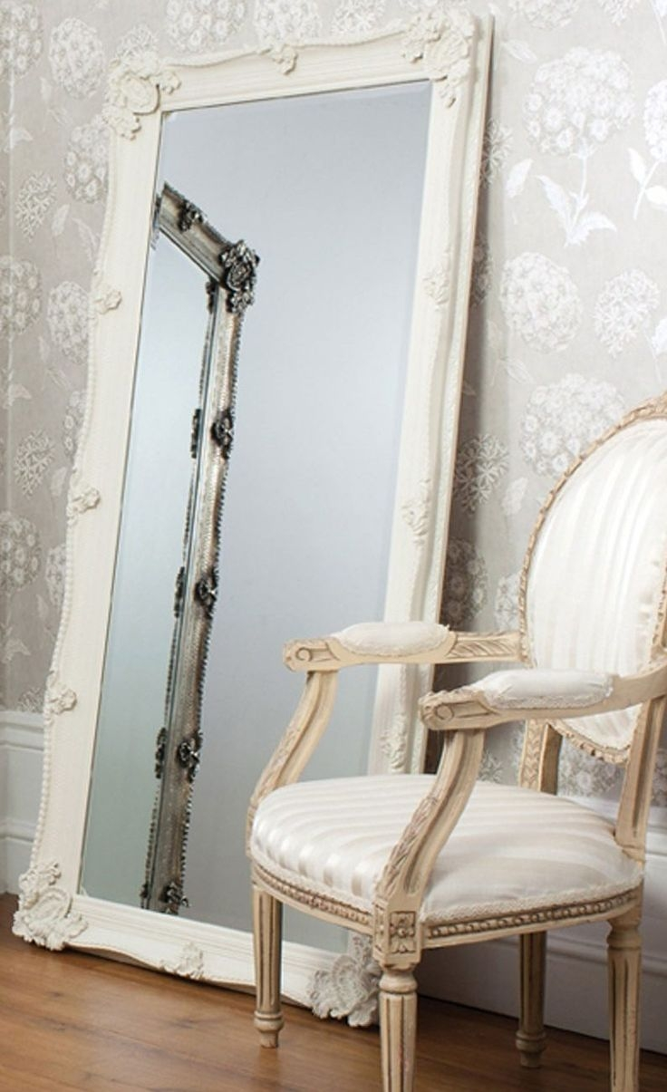 Shab Chic Mirrors A Collection Of Ideas To Try About Home Decor For Large White Antique Mirror (Image 12 of 15)