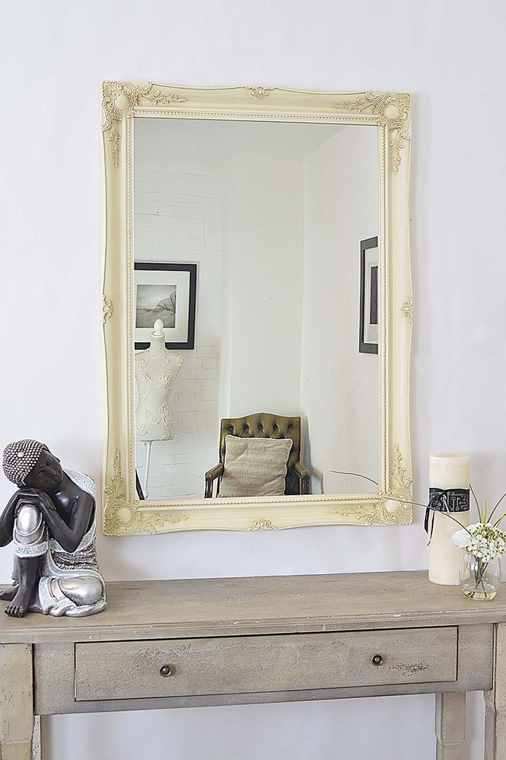 Shab Chic Mirrors A Collection Of Ideas To Try About Home Decor Within Antique Style Mirrors Wall (View 12 of 15)