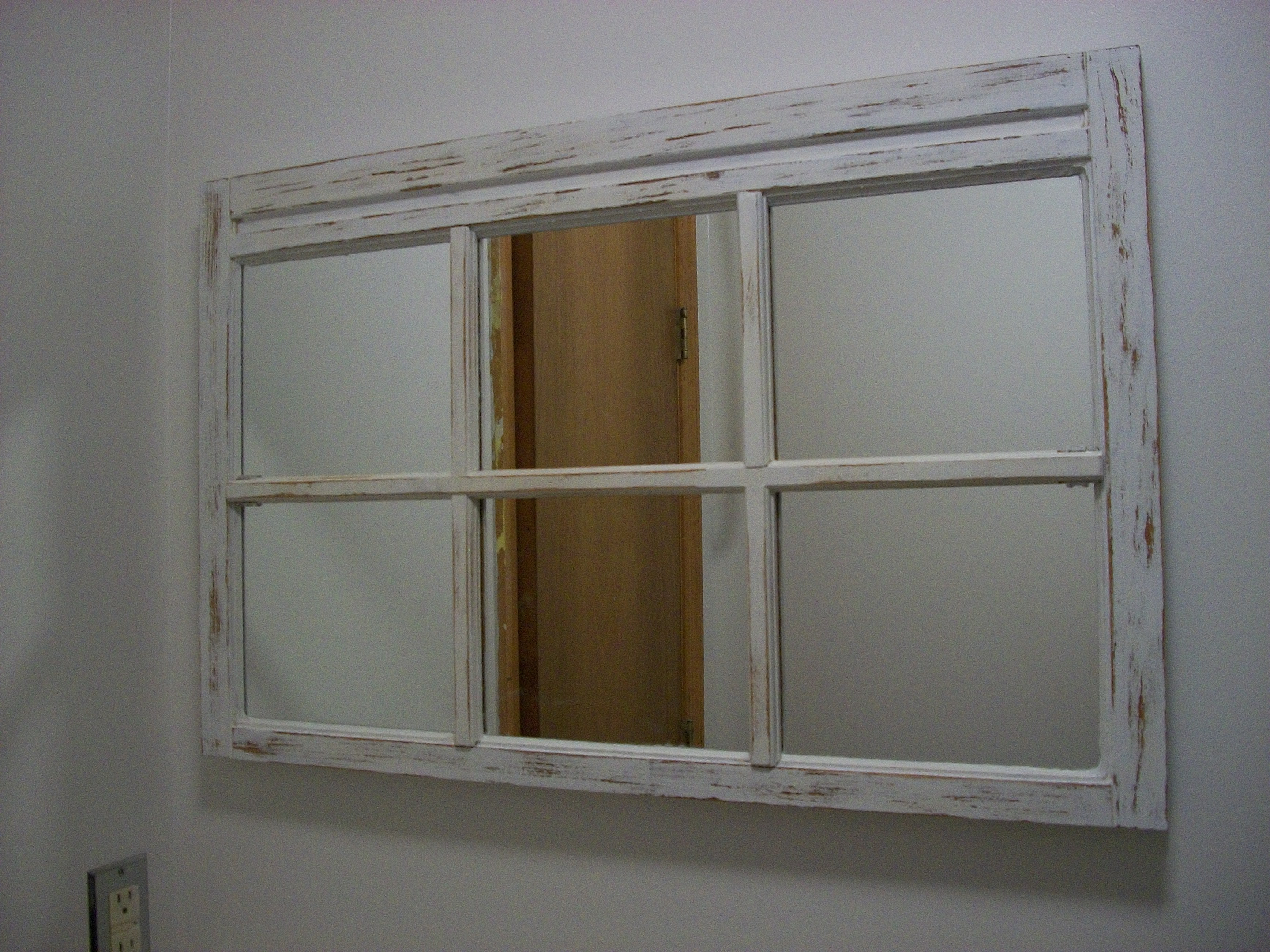 Featured Image of Shabby Chic Window Mirror