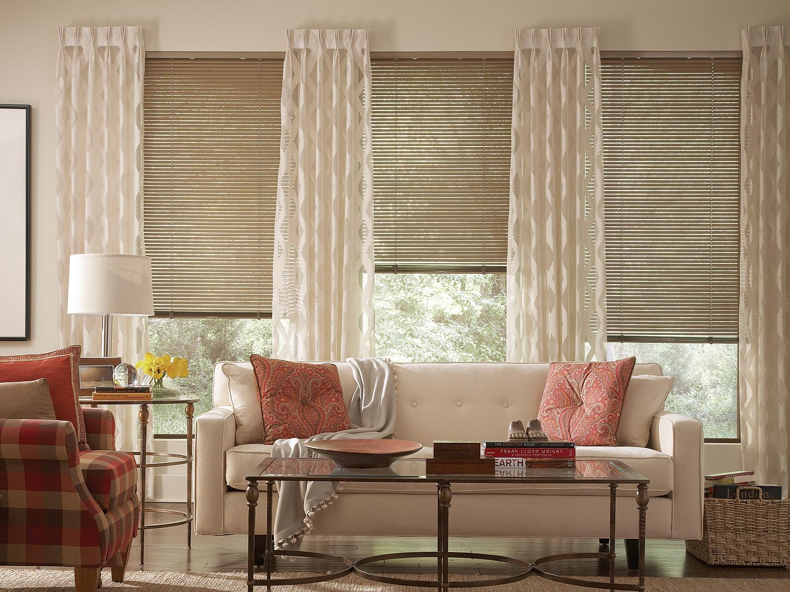 Shades Blinds Drapes And Shutters Lafayette Interior Fashions With Regard To Pattern Blinds (Image 13 of 15)