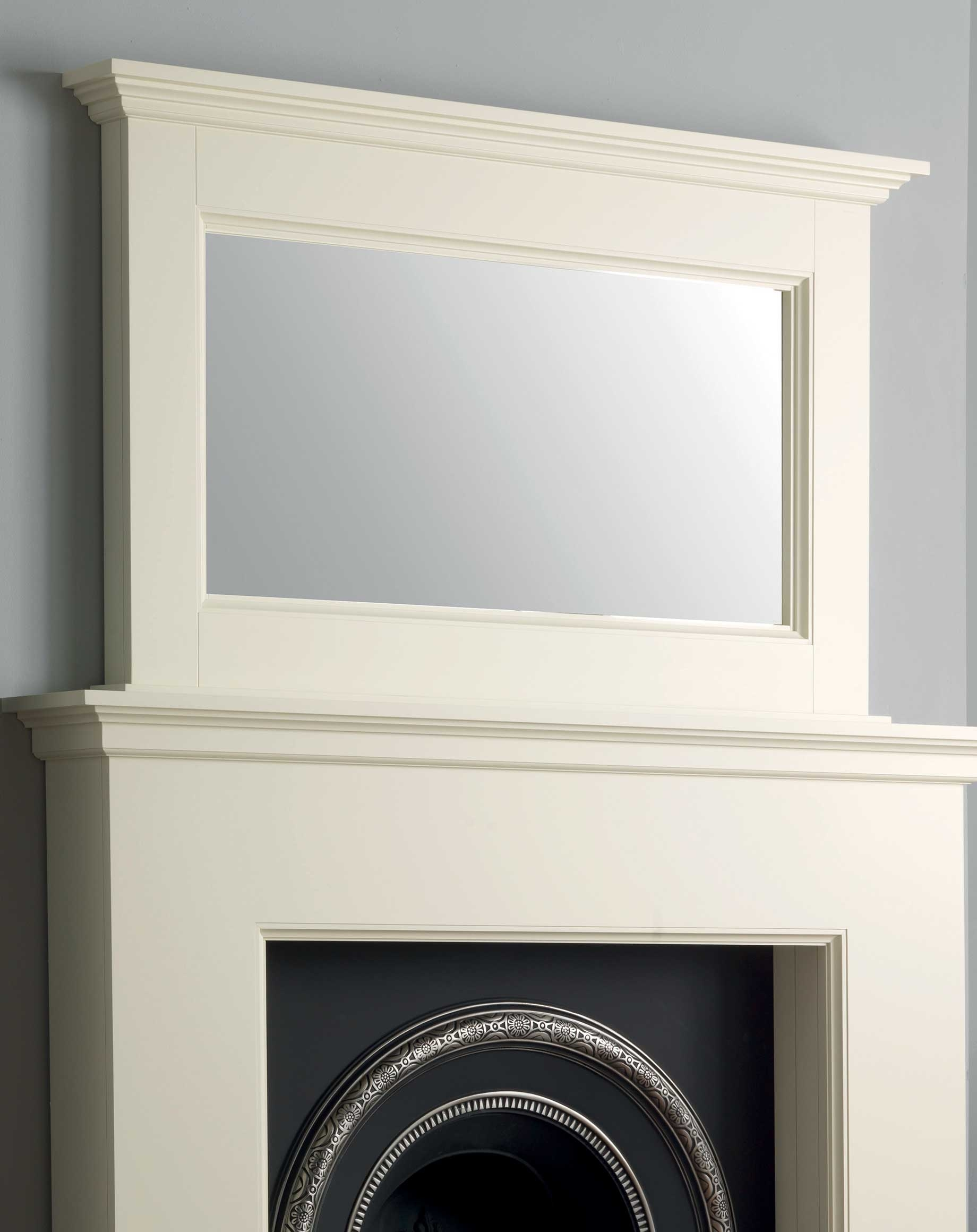 Shaftesbury Mirror Solid Wood Emberz Mantels Within Mantelpiece Mirror (Image 11 of 15)