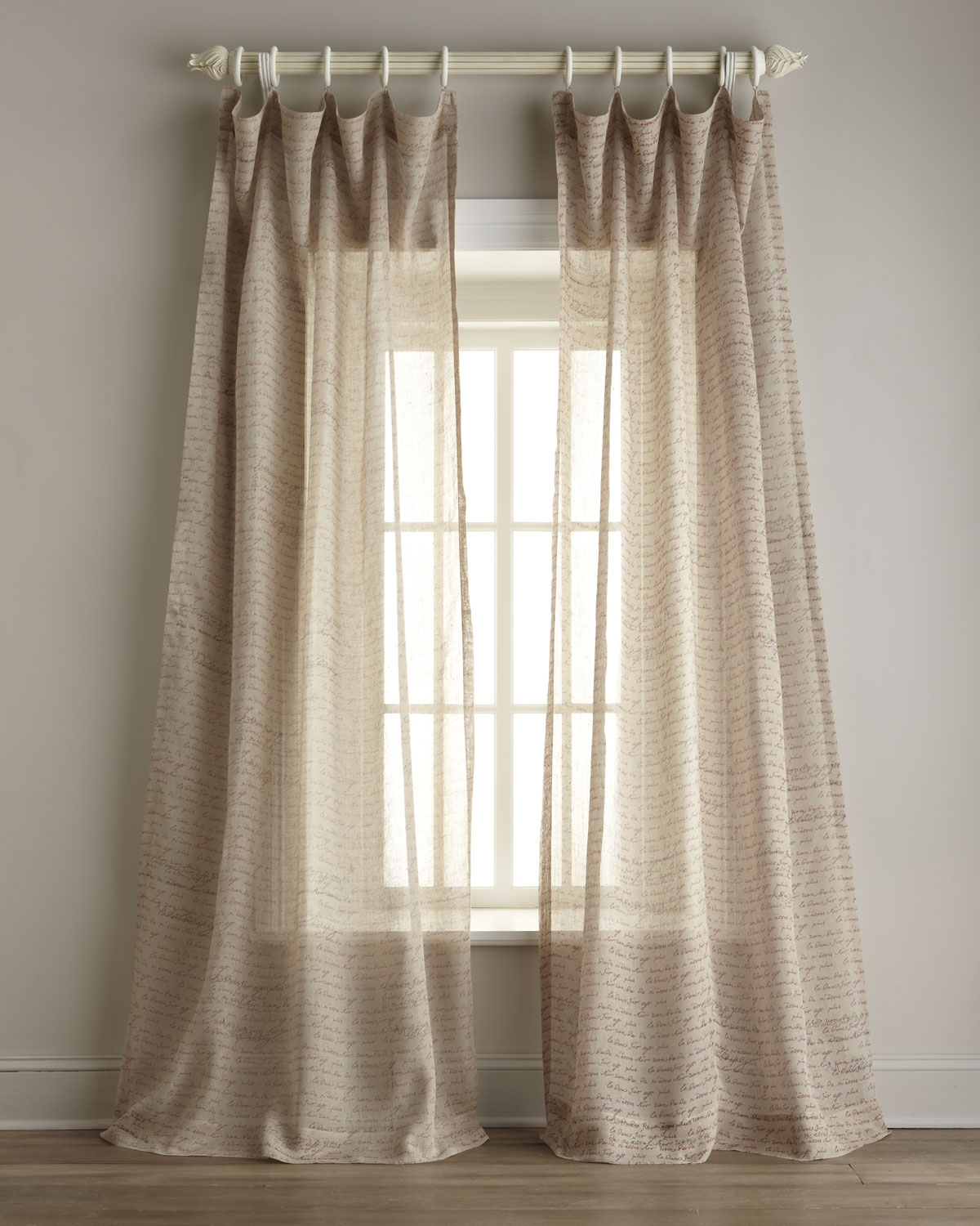 Sheer Linen Curtains Design Ideas And Decor With Sheer Linen Fabric Curtain (Image 13 of 15)