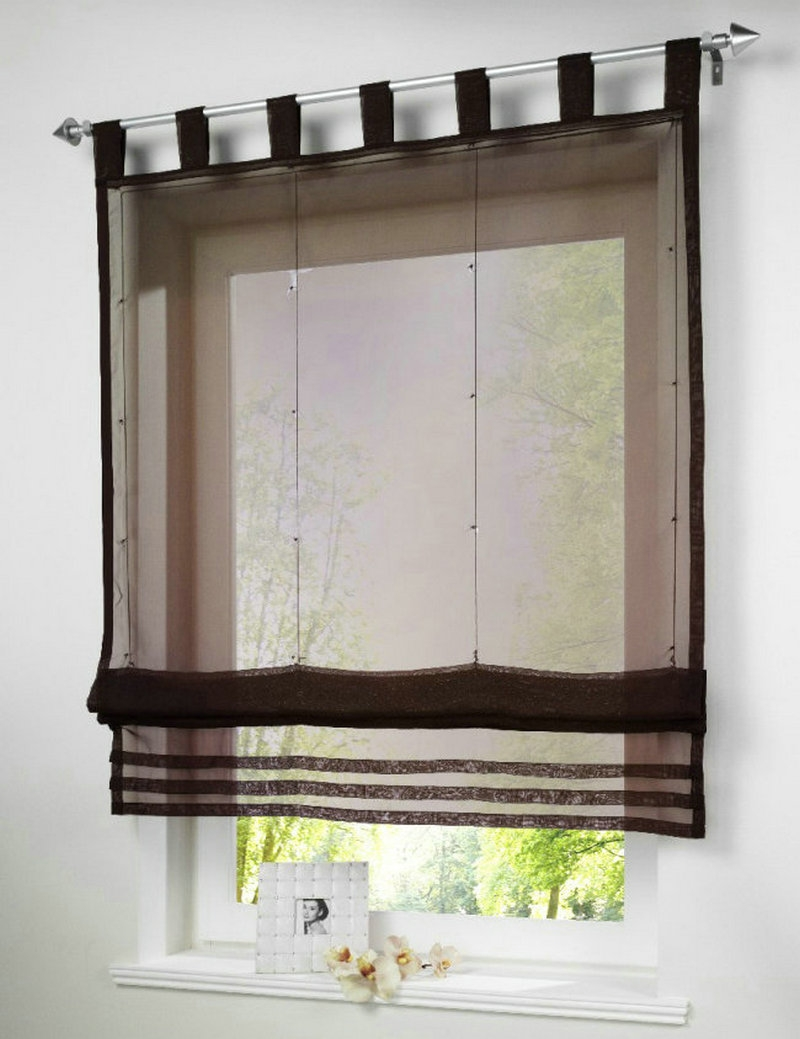 Sheer Roman Blinds Reviews Online Shopping Sheer Roman Blinds Pertaining To Sheer Roman Blinds (Image 11 of 15)