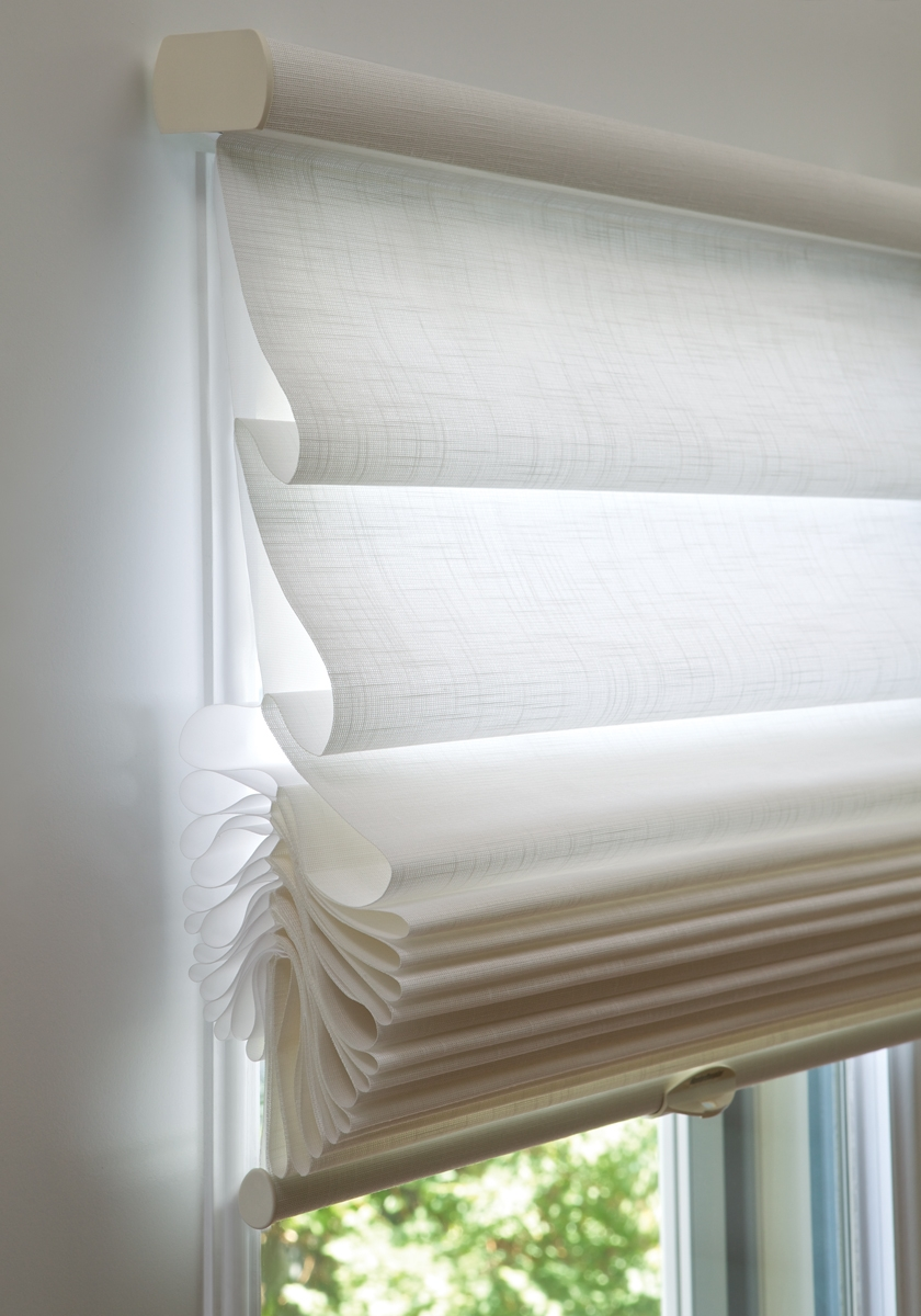 15 Inspirations Sheer Roman Blinds Curtain Ideas