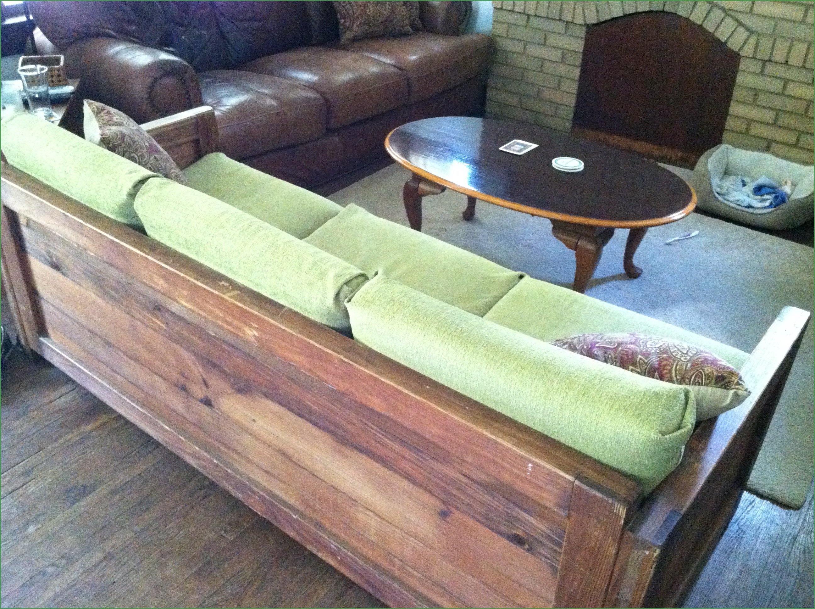 Ship Wood Sectional Sofa Wood Sectional Frames Wood Sectional Intended For Diy Sofa Frame (Image 15 of 15)