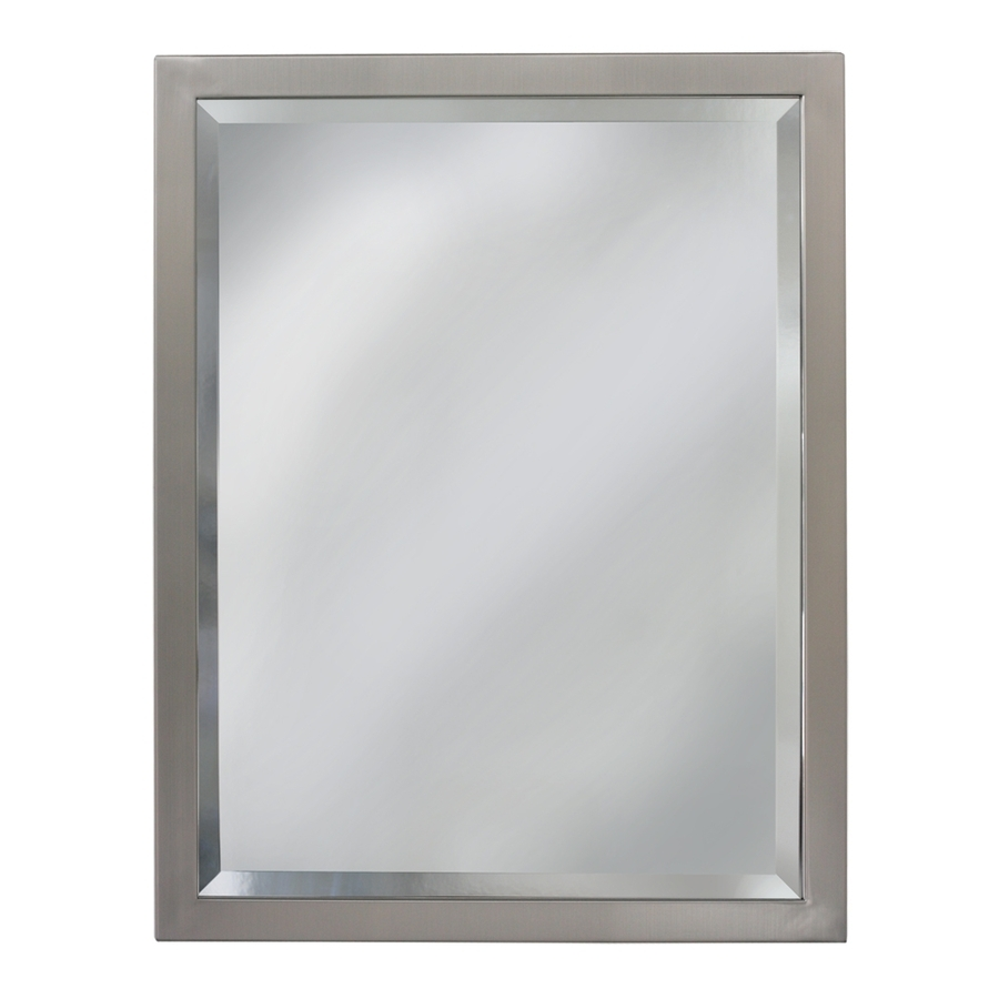 Shop Bathroom Mirrors At Lowes With Regard To Bevelled Bathroom Mirror (Image 13 of 15)