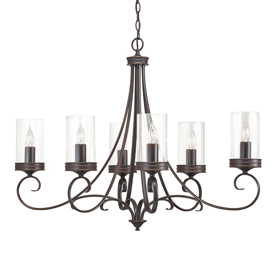 Shop Chandeliers At Lowes Inside Candle Light Chandelier (View 7 of 15)