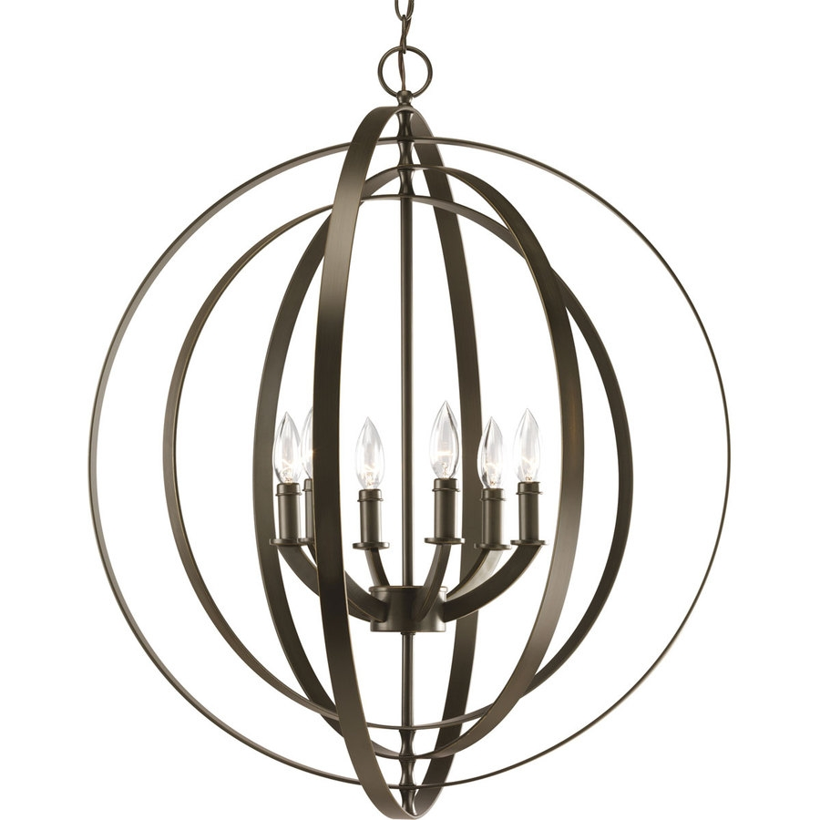 Shop Chandeliers At Lowes With Regard To Large Bronze Chandelier (View 11 of 15)