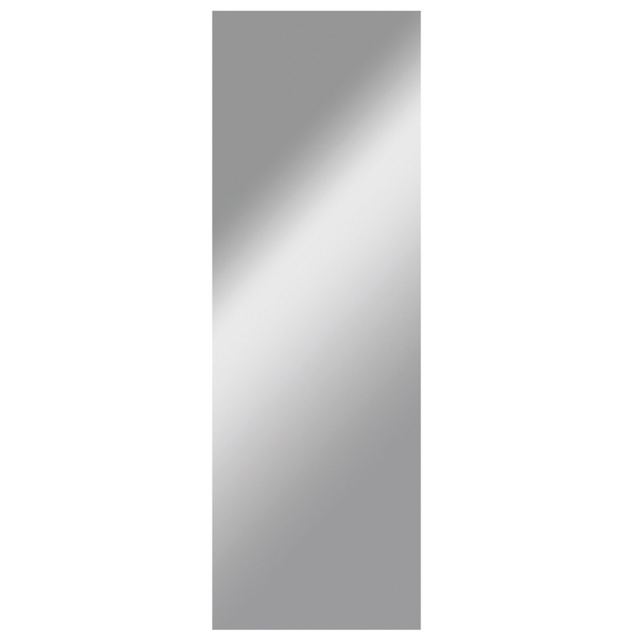 Shop Dreamwalls 18 In X 68 In Silver Polished Rectangle Frameless For Wall Mirror No Frame (Image 6 of 15)