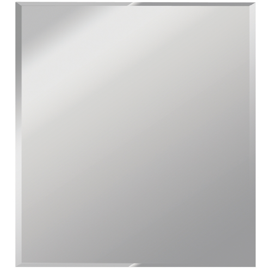 Featured Image of Square Frameless Mirror