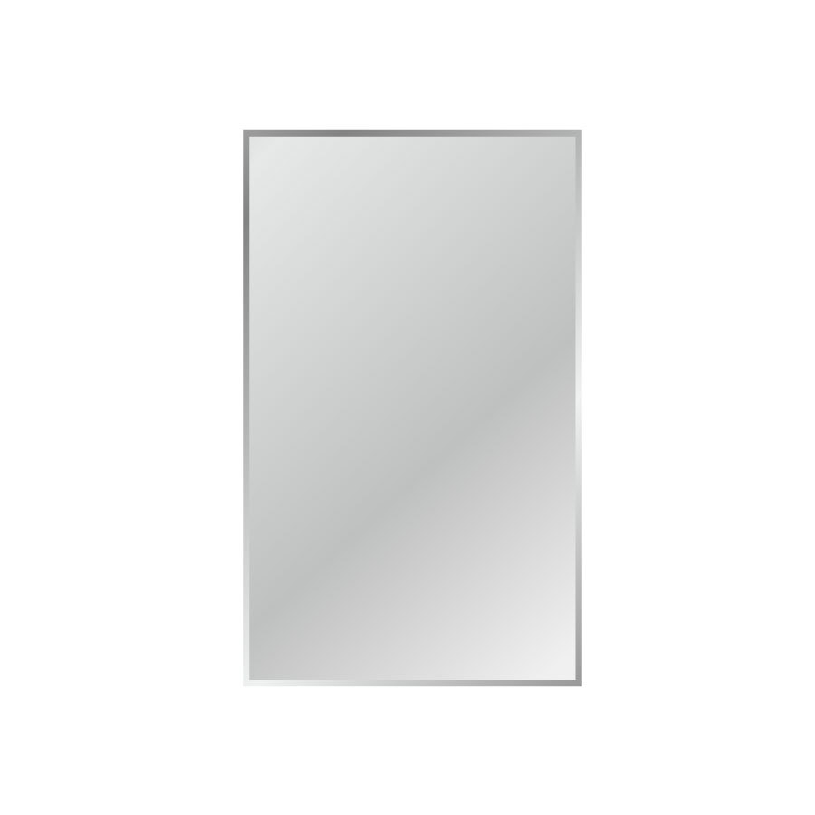 Shop Mirrors At Lowes Pertaining To Full Length Frameless Mirror (Image 10 of 15)
