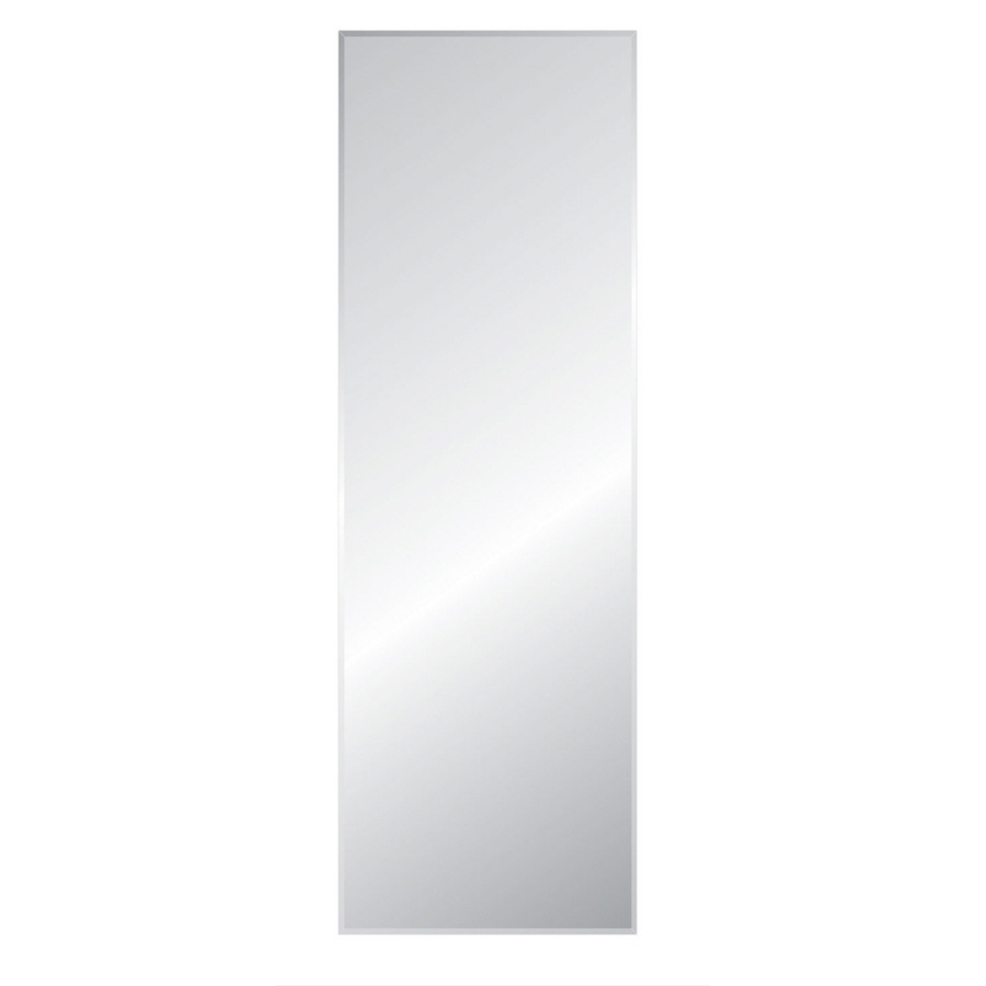 Shop Mirrors Mirror Accessories At Lowes Regarding Full Length Frameless Mirror (Image 13 of 15)