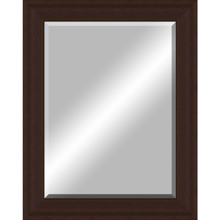 Shop Oil Rubbed Bronze Rectangle Framed Wall Mirror At Lowes Throughout Bronze Wall Mirrors (Image 10 of 15)