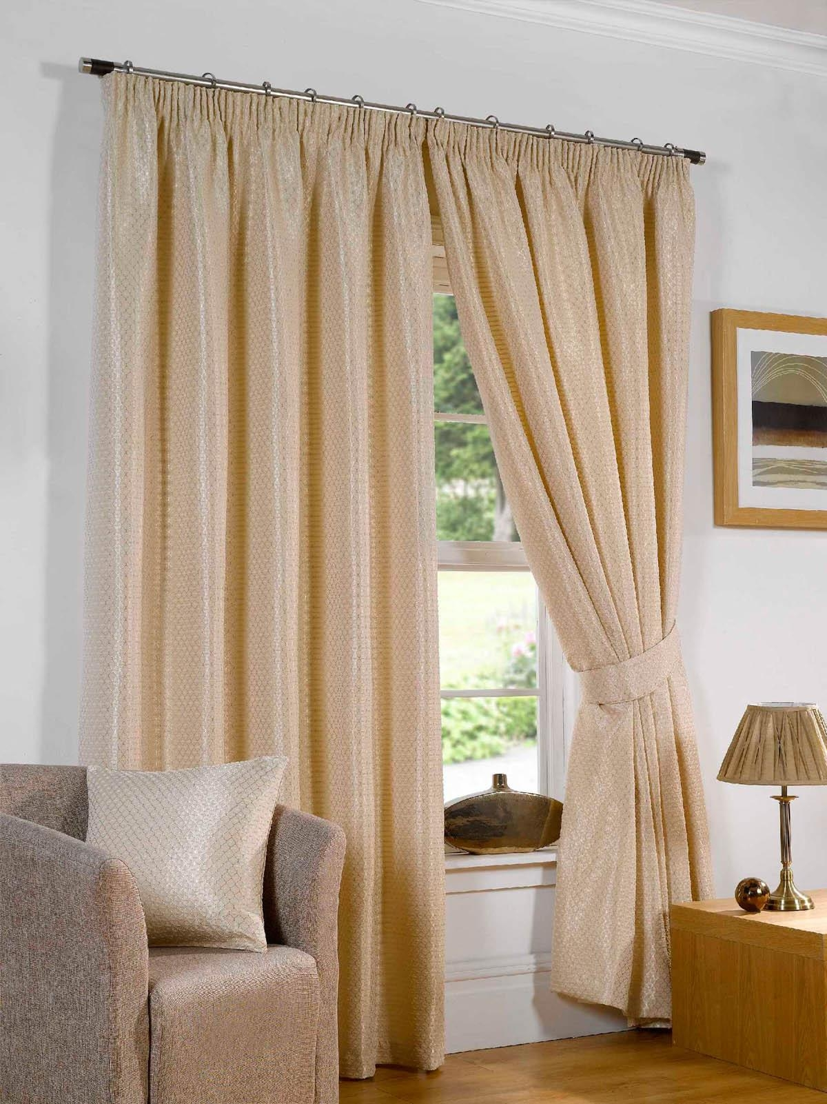 Sicily Ready Made Lined Curtains Silk Free Uk Delivery Terrys Within Silk Ready Made Curtains (Image 13 of 15)