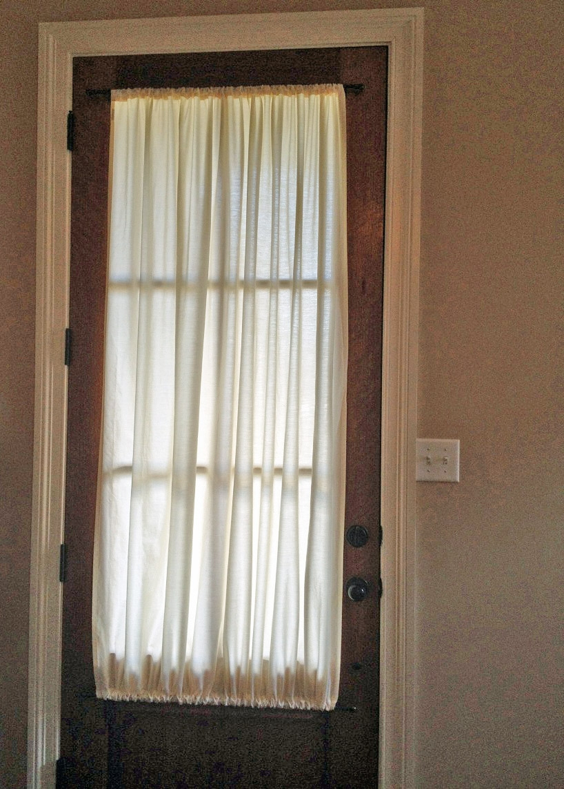 Sidelight Curtains Sidelight Panel Curtains Sidelight Window Throughout Main Door Curtains (Image 14 of 15)