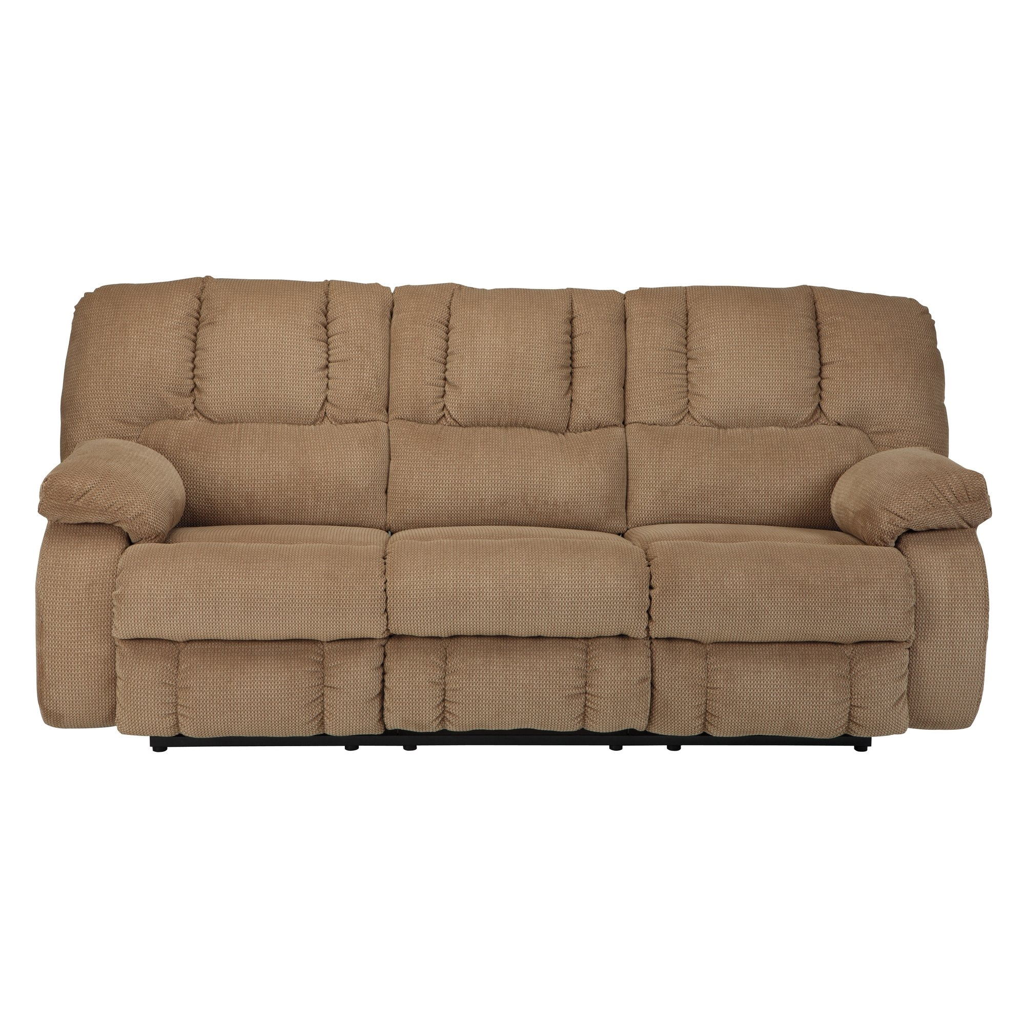 Signature Design Ashley Roan Reclining Sofa Reviews Wayfair Throughout Ashley Tufted Sofa (Image 12 of 15)