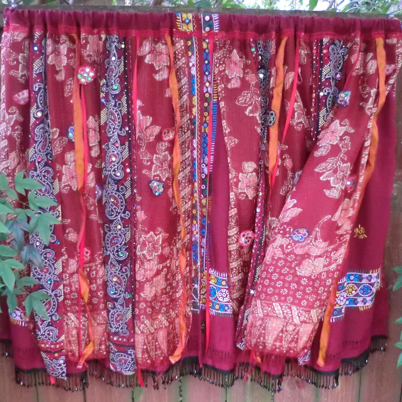 Silk Road Handmade Gypsy Bohemian Curtains Regarding Bohemian Curtains (Image 14 of 15)