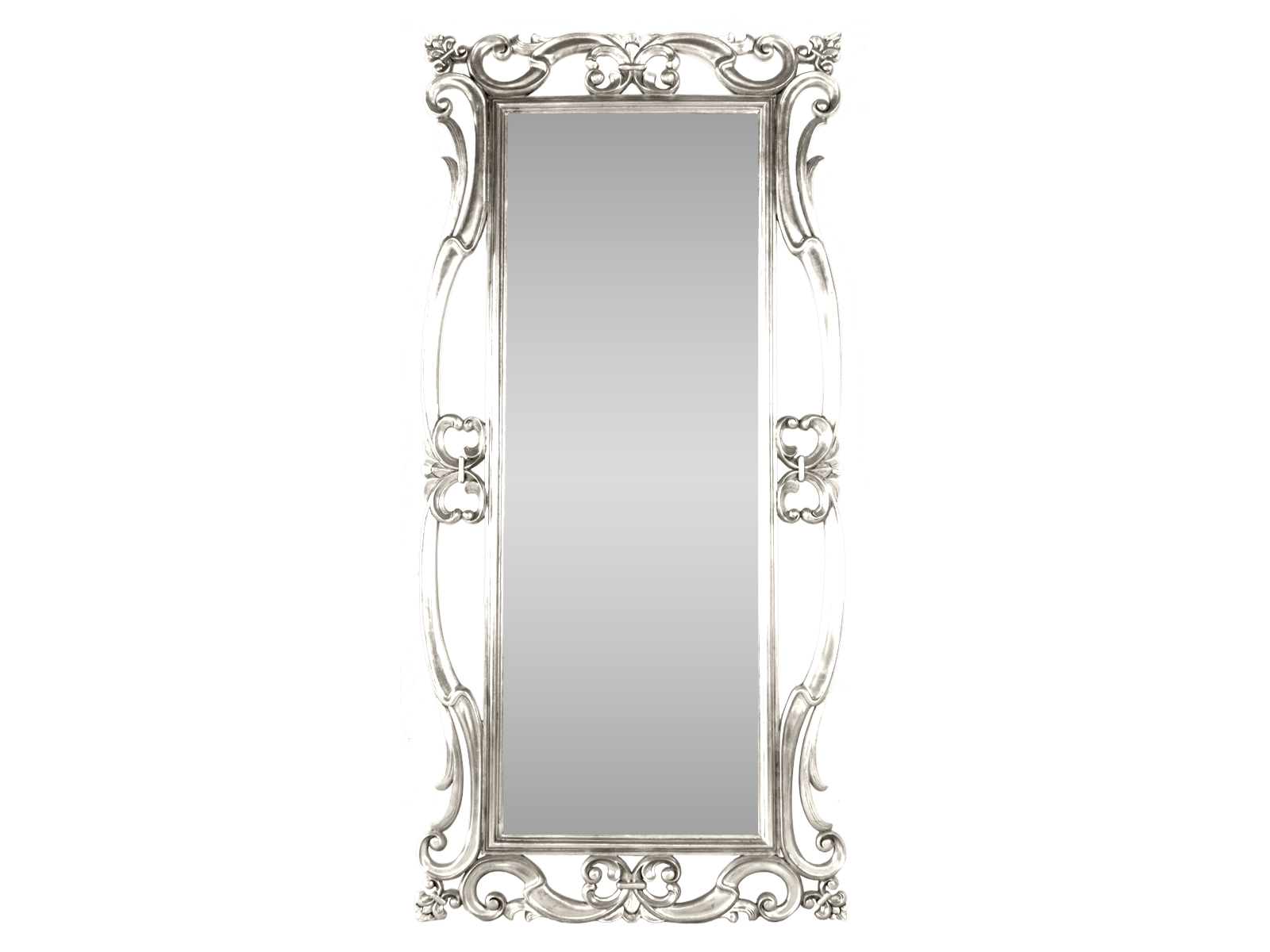 Silver Antique Dressing Mirror Hidden Mill Inside Tall Silver Mirror (Image 13 of 15)