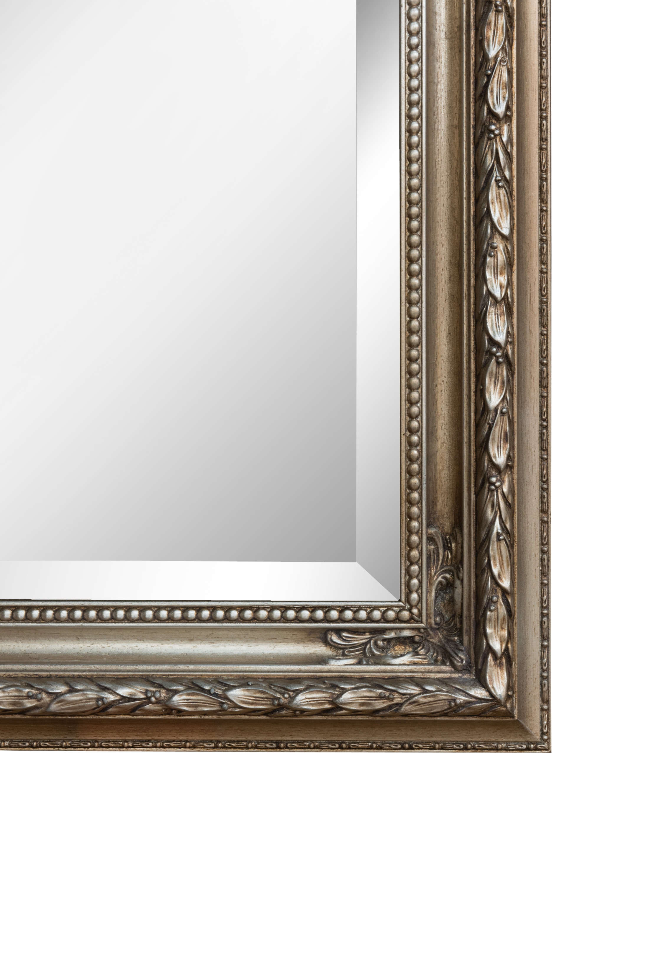 Silver Baroque Mirror Large Mirrors For Sale Panfili Mirrors Pertaining To Baroque Mirrors (Image 13 of 15)