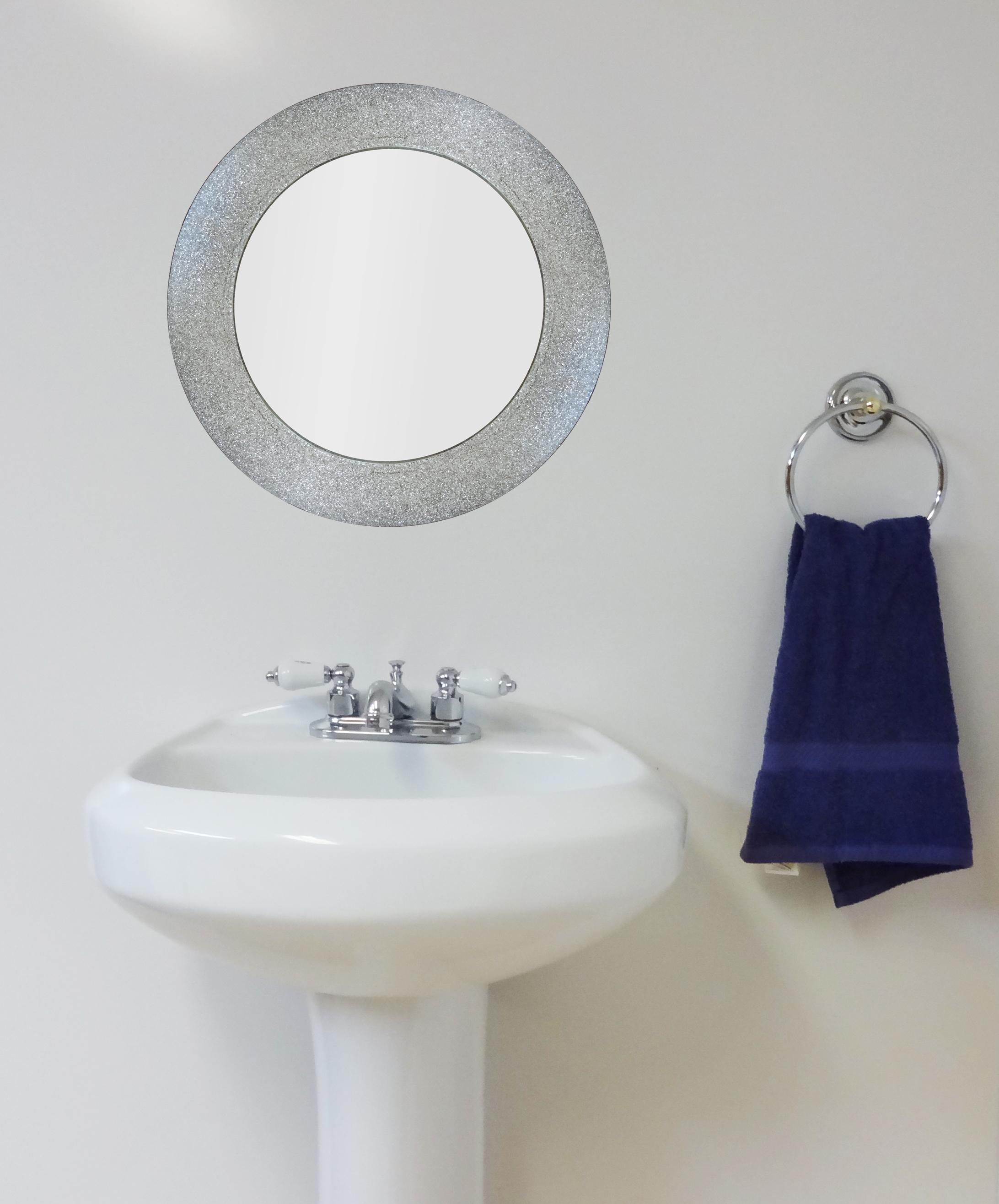 Silver Glitter Mirror Potty Training Concepts In Silver Glitter Mirror (Image 12 of 15)
