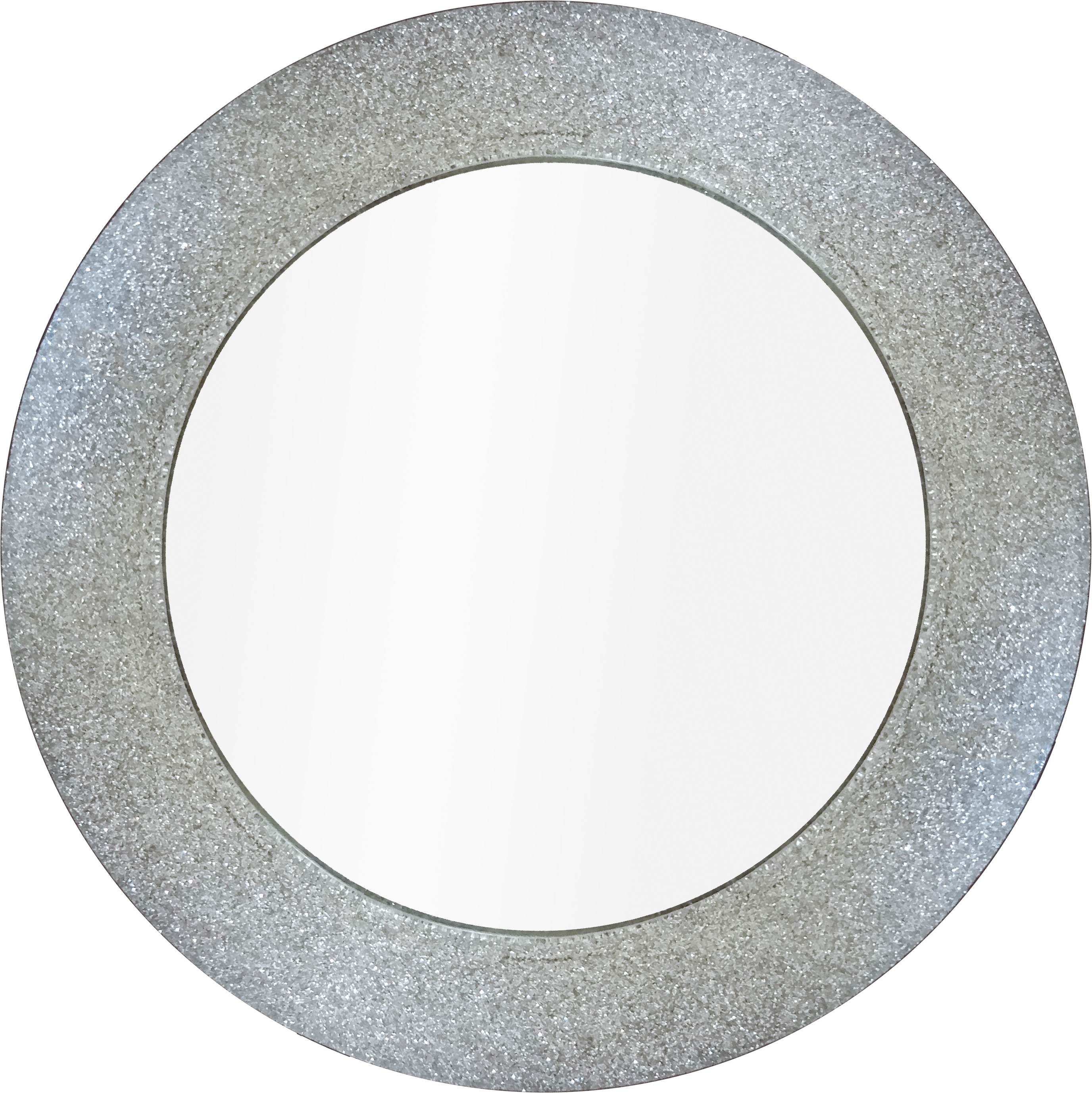 Featured Image of Silver Glitter Mirror