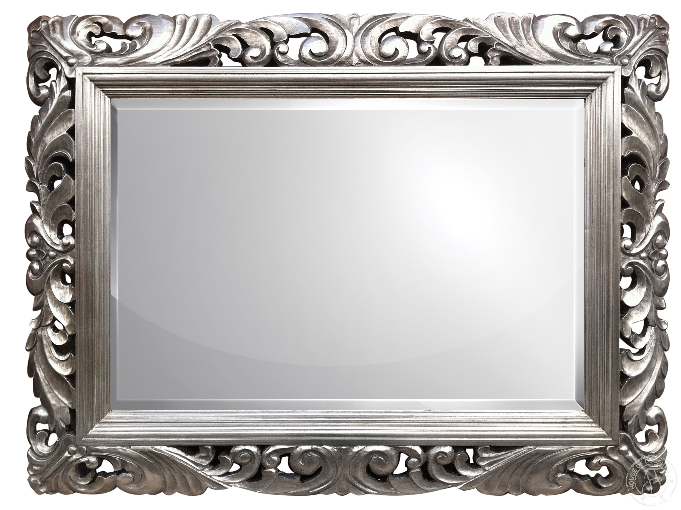 Silver Modern Baroque House Of Ducentis Silver Pinterest In Silver Baroque Mirror (Image 14 of 15)