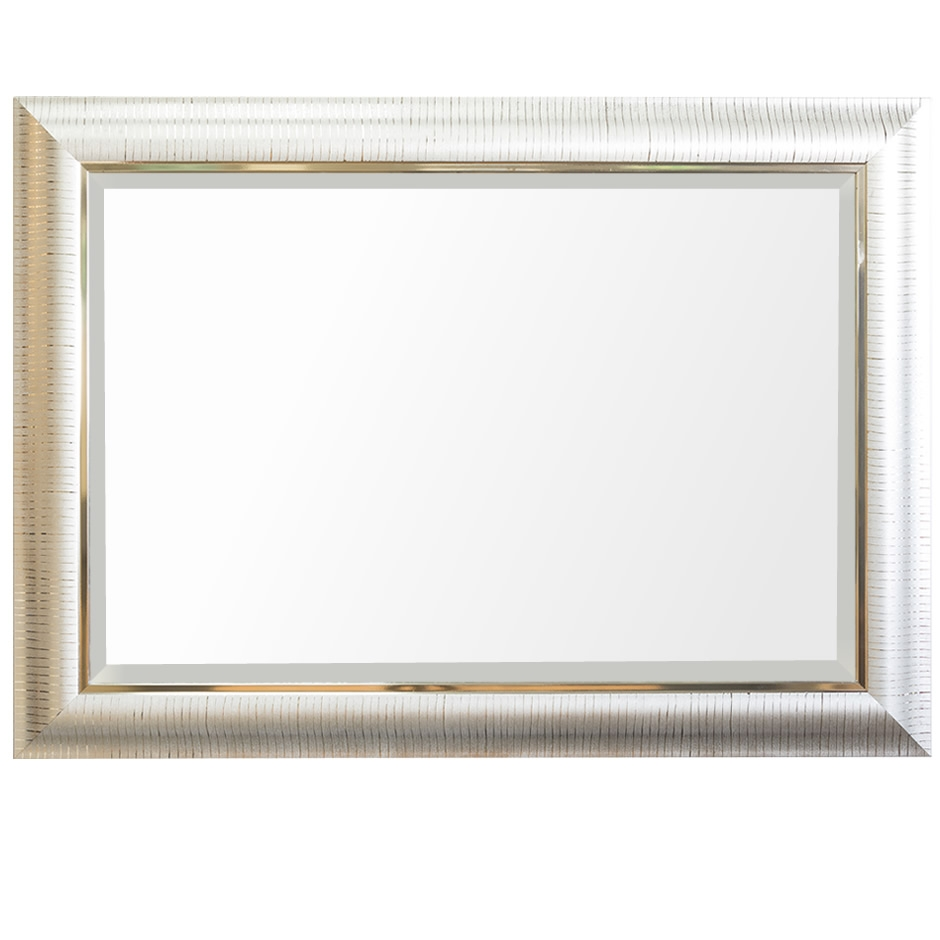 Silver Rectangle Mirror All Mirrors Mirrorsie Ireland With Rectangular Silver Mirror (Image 11 of 15)
