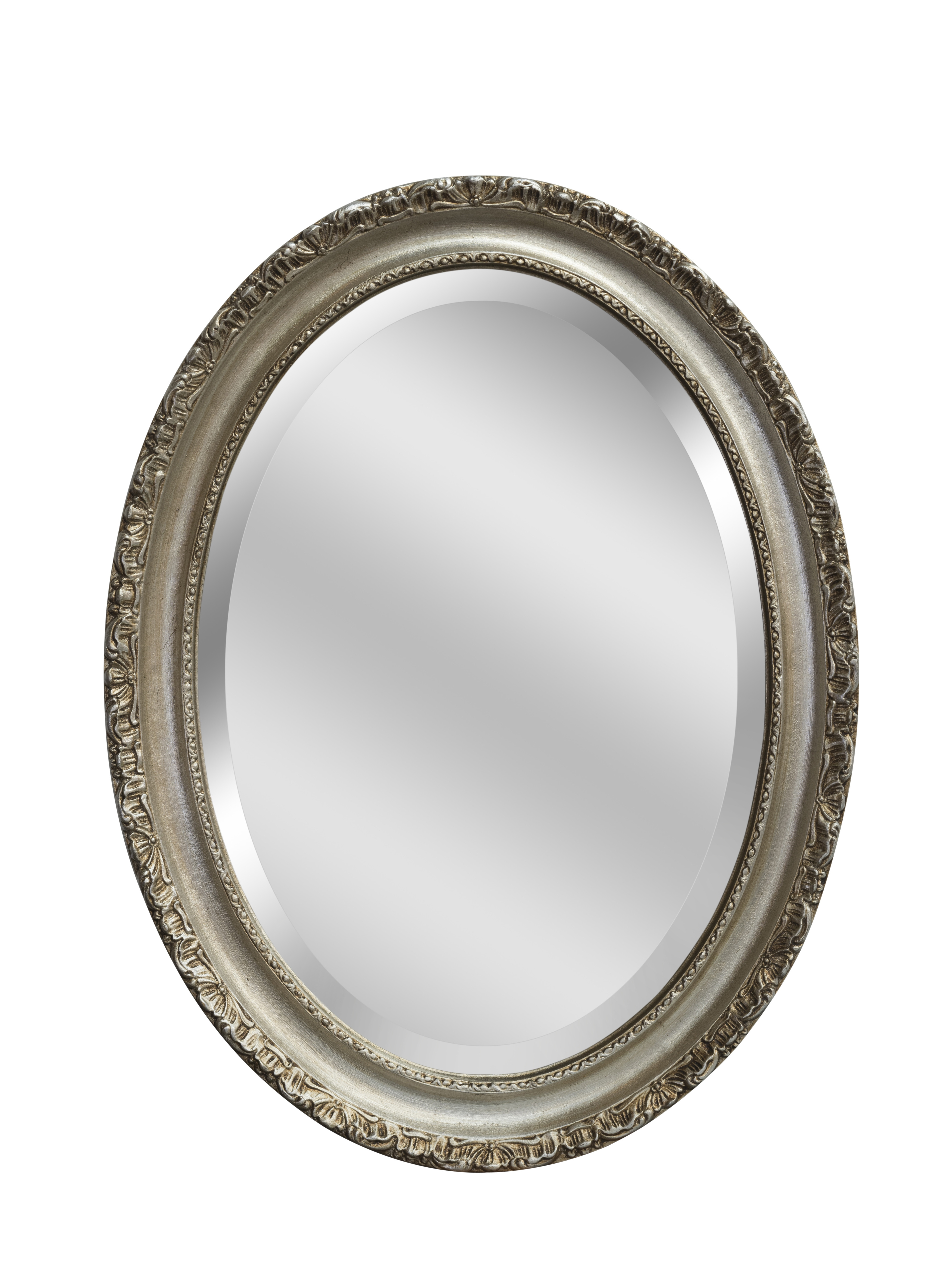 Silver Regency Oval Mirror Bedroom Mirrors For Sale Panfili Regarding Mirrors For Sale (Image 14 of 15)