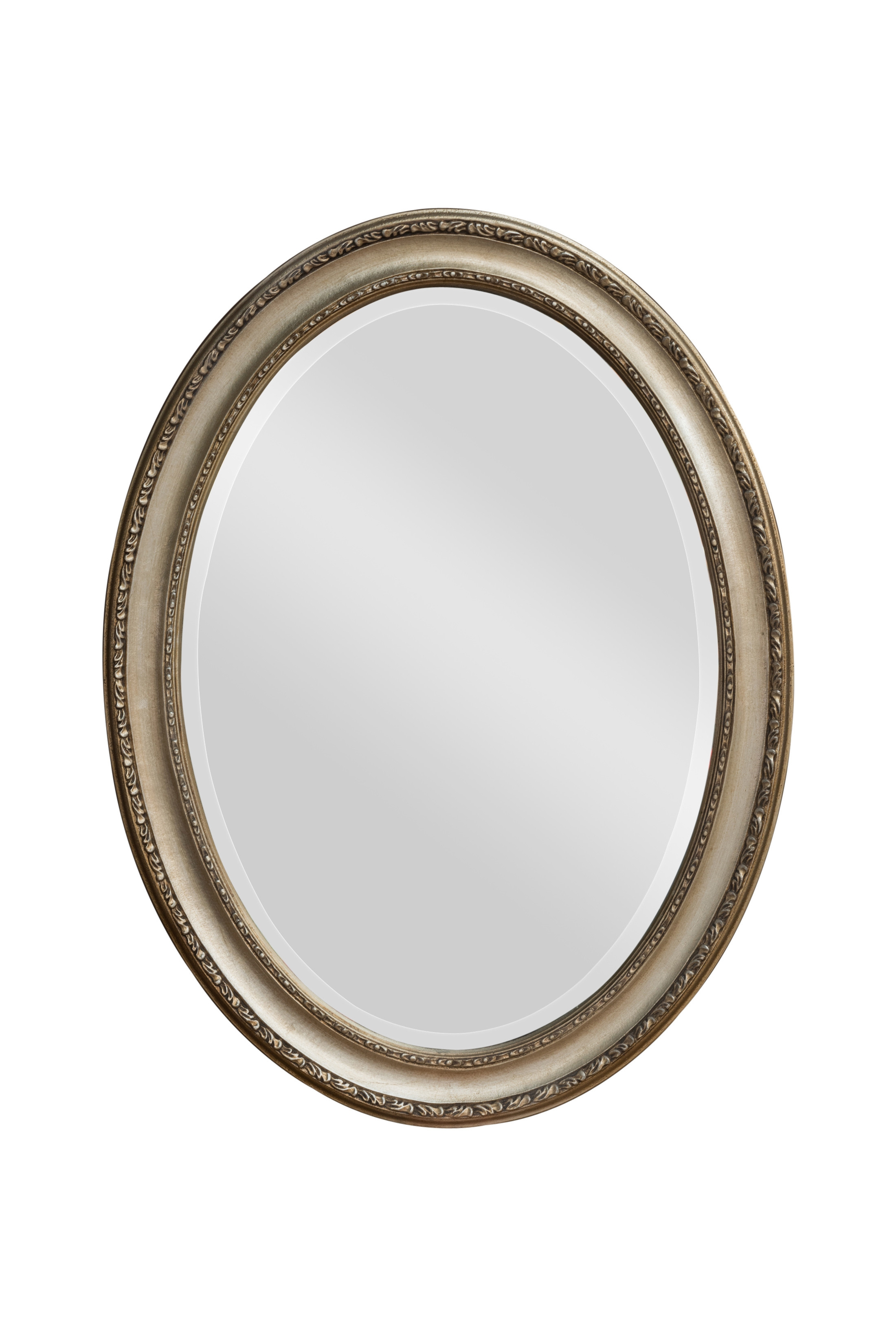 Silver Victorian Oval Mirror Bedroom Mirrors For Sale Panfili For Silver Oval Mirror (Image 13 of 15)
