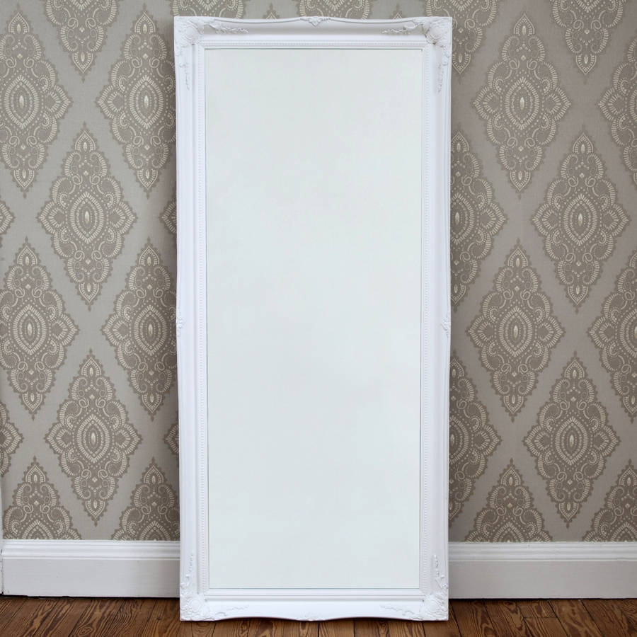Simple Classic French White Mirror Decorative Mirrors Online With French White Mirror (Image 10 of 15)