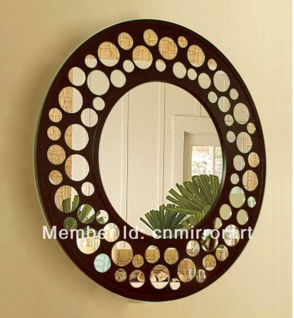 Simple Decoration Wall Mirrors Cheap Stylish Design Better Homes Within Cheap Baroque Mirror (Image 14 of 15)