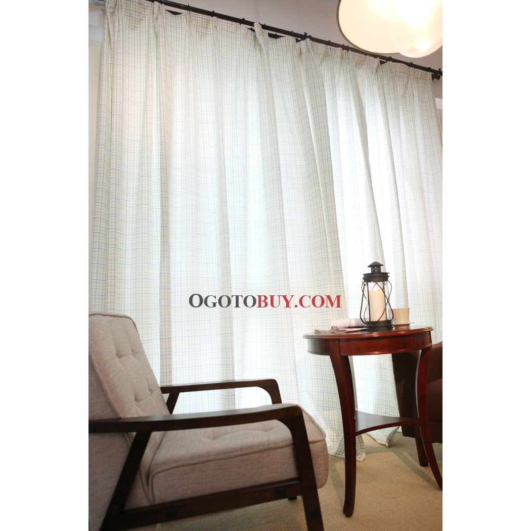 Featured Image of White Sheer Cotton Curtains
