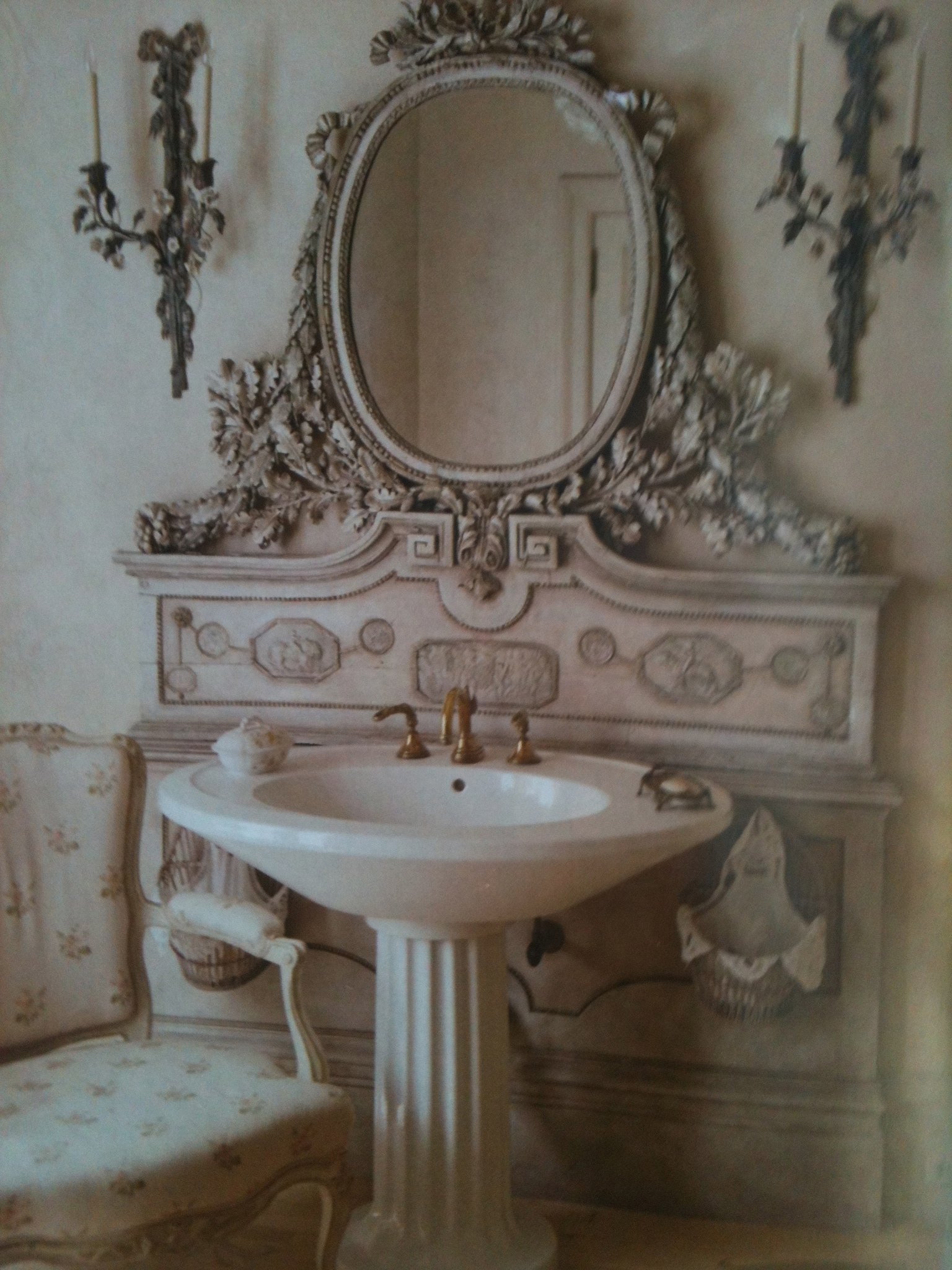Small Bathroom Cheap Subway Tile Subway Tile Backsplash Regarding Shabby Chic Mirrors Cheap (View 15 of 15)