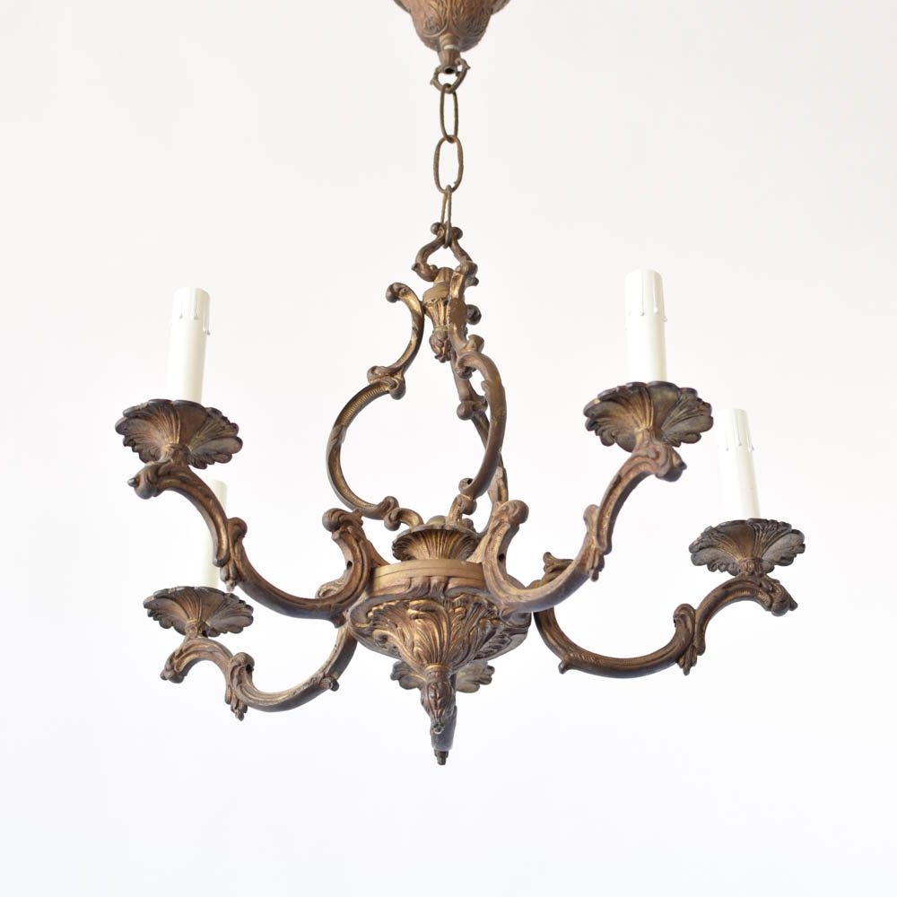Small Bronze Chandelier The Big Chandelier In Small Bronze Chandelier (Image 11 of 15)