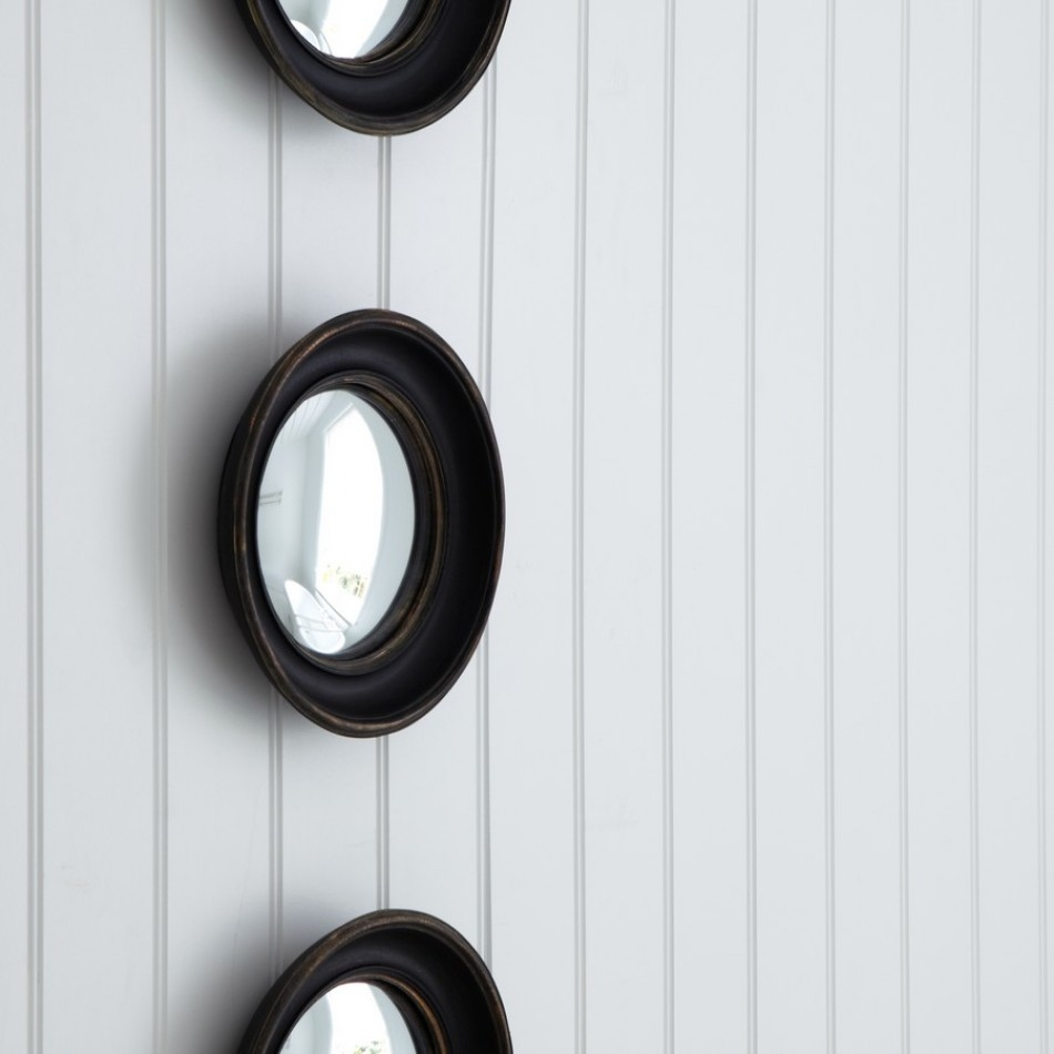 Small Convex Mirror For Creating Striking Wall Decoration Homesfeed Pertaining To Small Convex Mirrors (Image 11 of 15)
