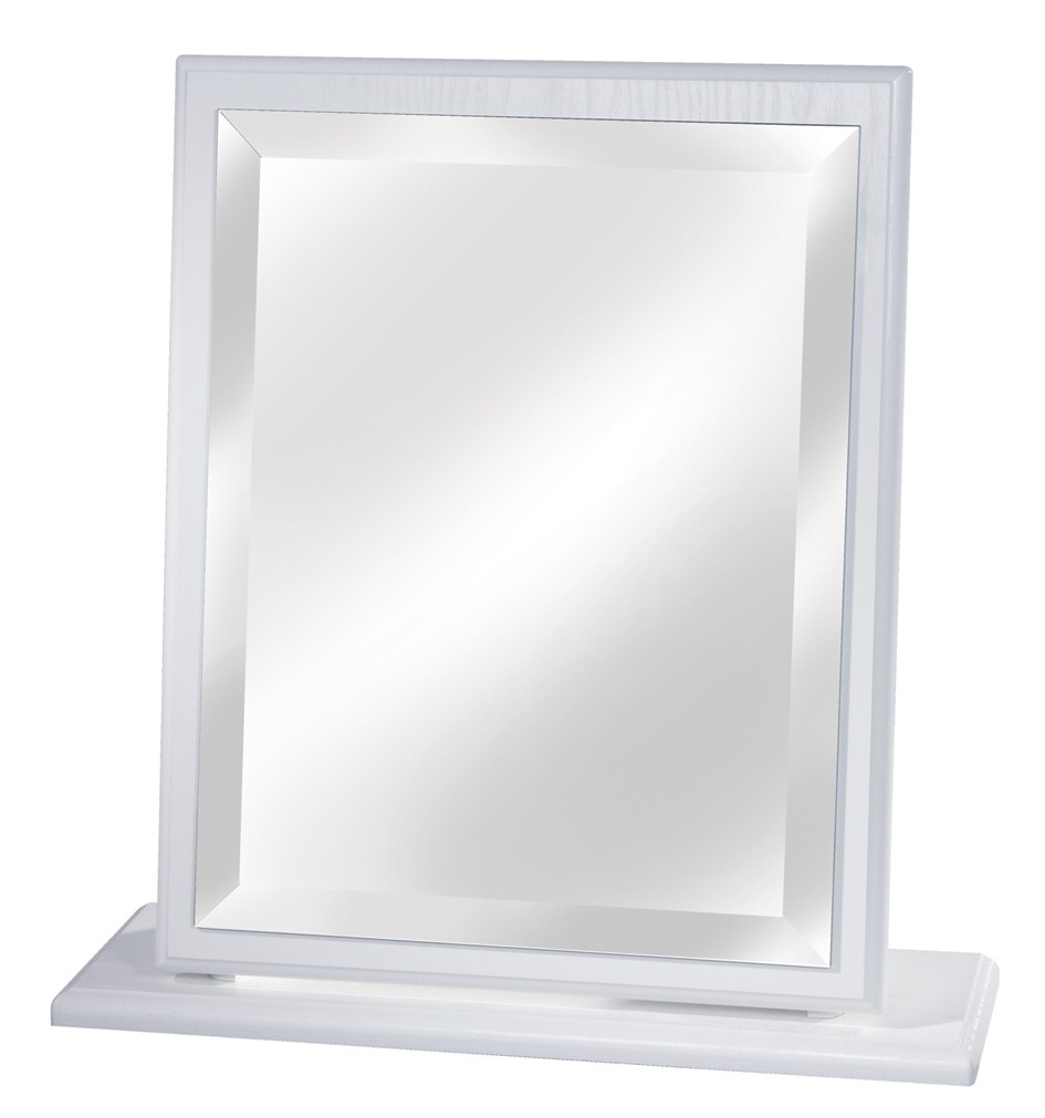Small Dressing Table Mirror White Cream Oak Beech Or Driftwood With Small Table Mirror (Image 10 of 15)
