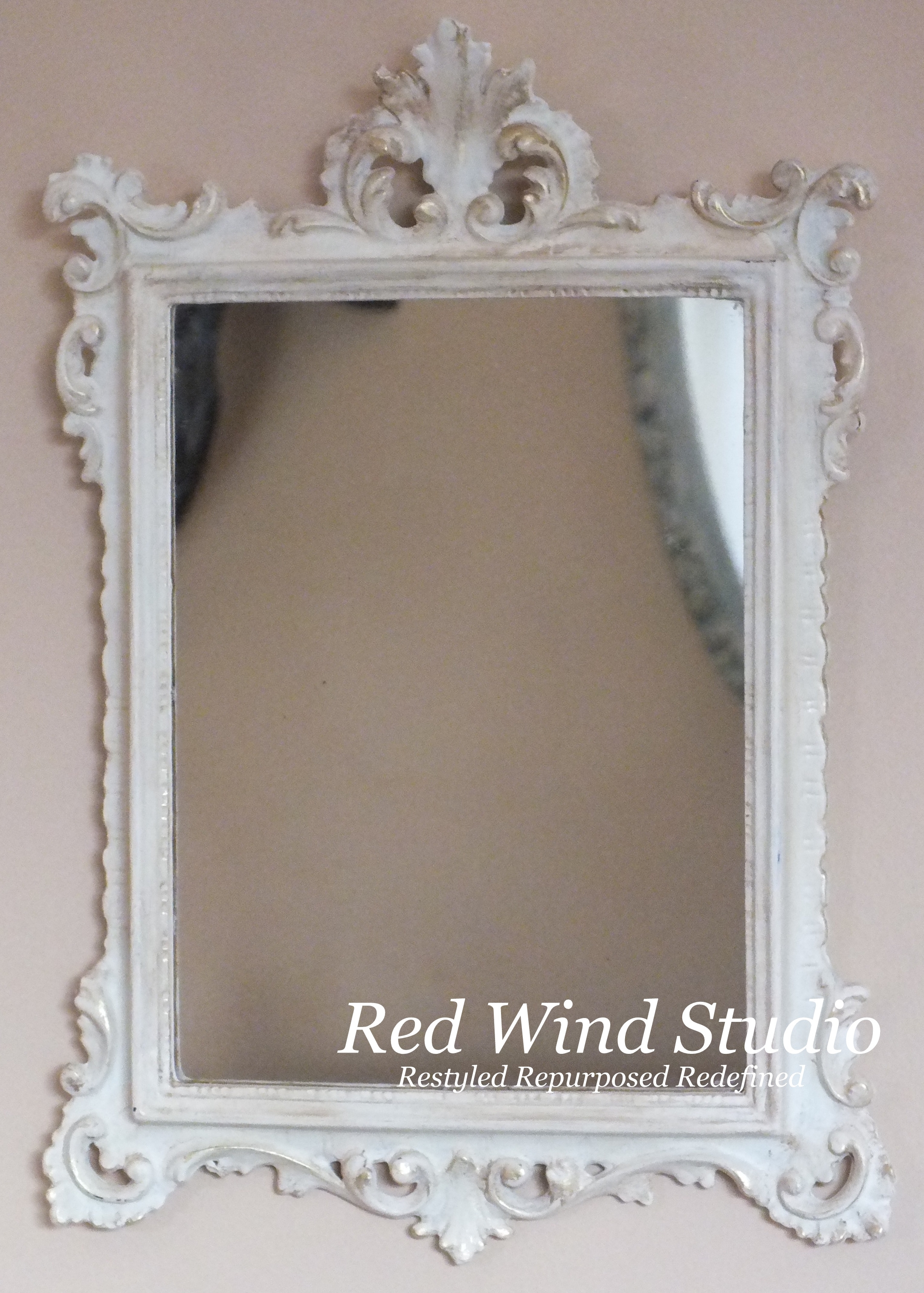 Small Rectangular Ornate Mirror Redwindstudio Within Small Ornate Mirror (Image 12 of 15)