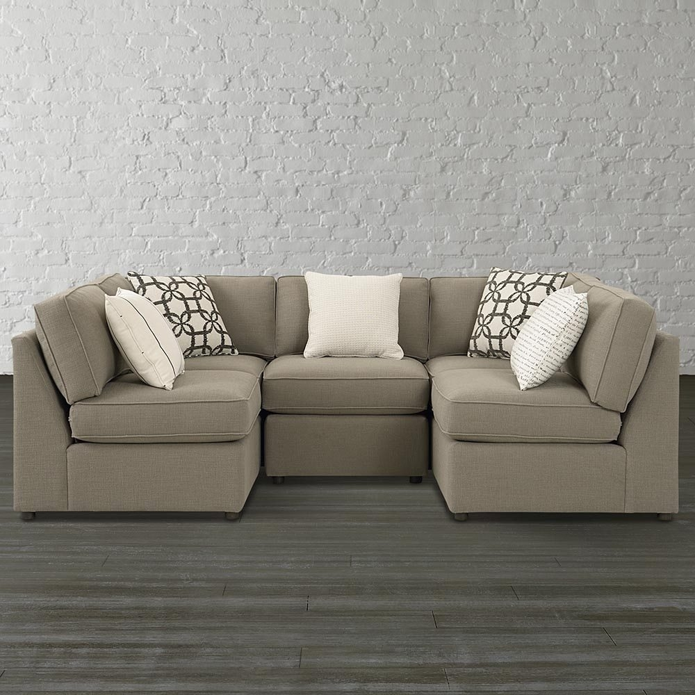 Small U Shaped Sectional Sofa Hotelsbacau Regarding Albany Industries Sectional Sofa (Image 13 of 15)