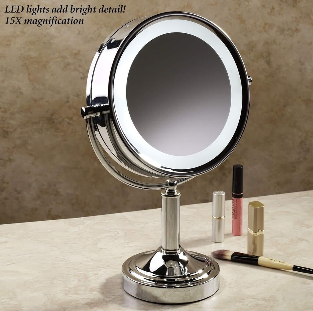 Small Vanity Mirror With Lights Lightupmyparty With Small Mirrors For Sale (Image 15 of 15)