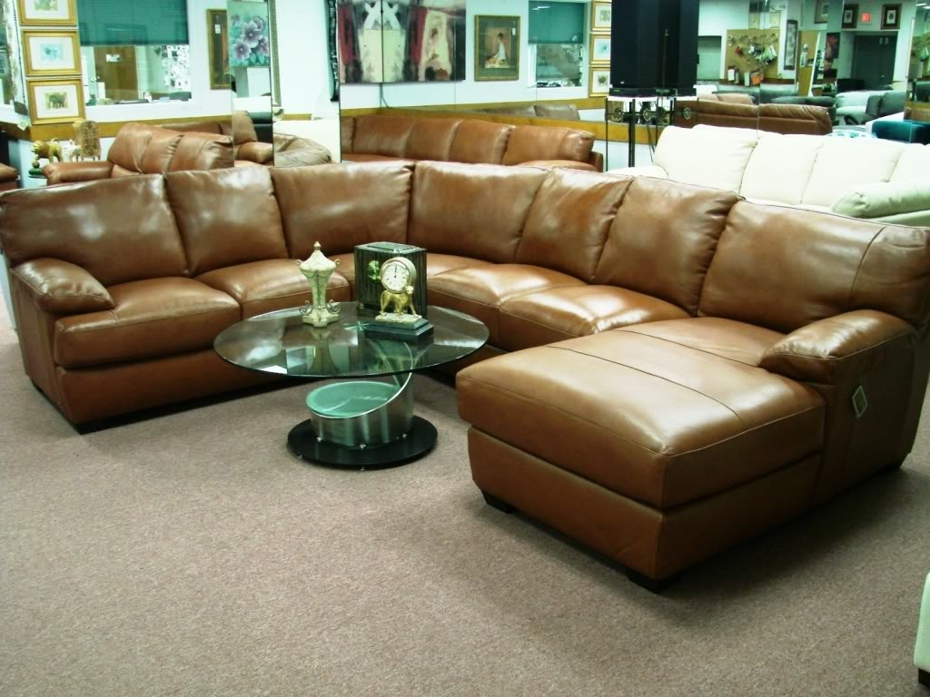 Sofa 14 Wonderful Leather Sofa Sale Delightful Leather In Closeout Sectional Sofas (View 2 of 15)