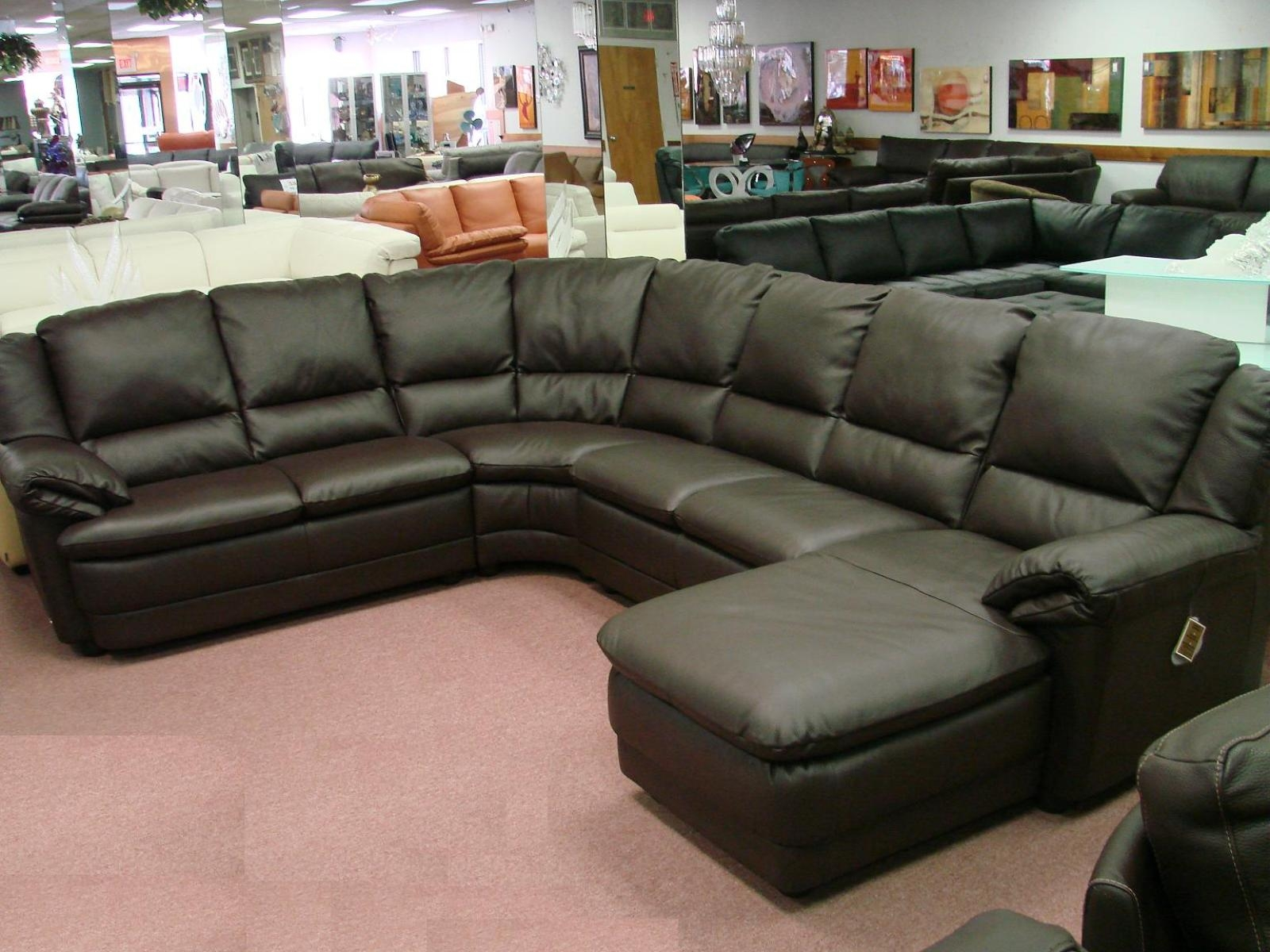 Sofa 9 Awesome Leather Sofa Sectionals On Sale Wj21 For Closeout Sectional Sofas (View 11 of 15)