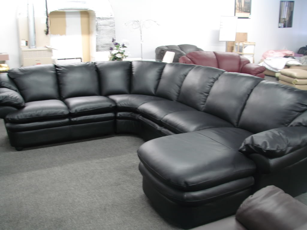 Sofa Amusing Black Leather Couches 2017 Design Black Leather For Black Sectional Sofa For Cheap (Image 15 of 15)