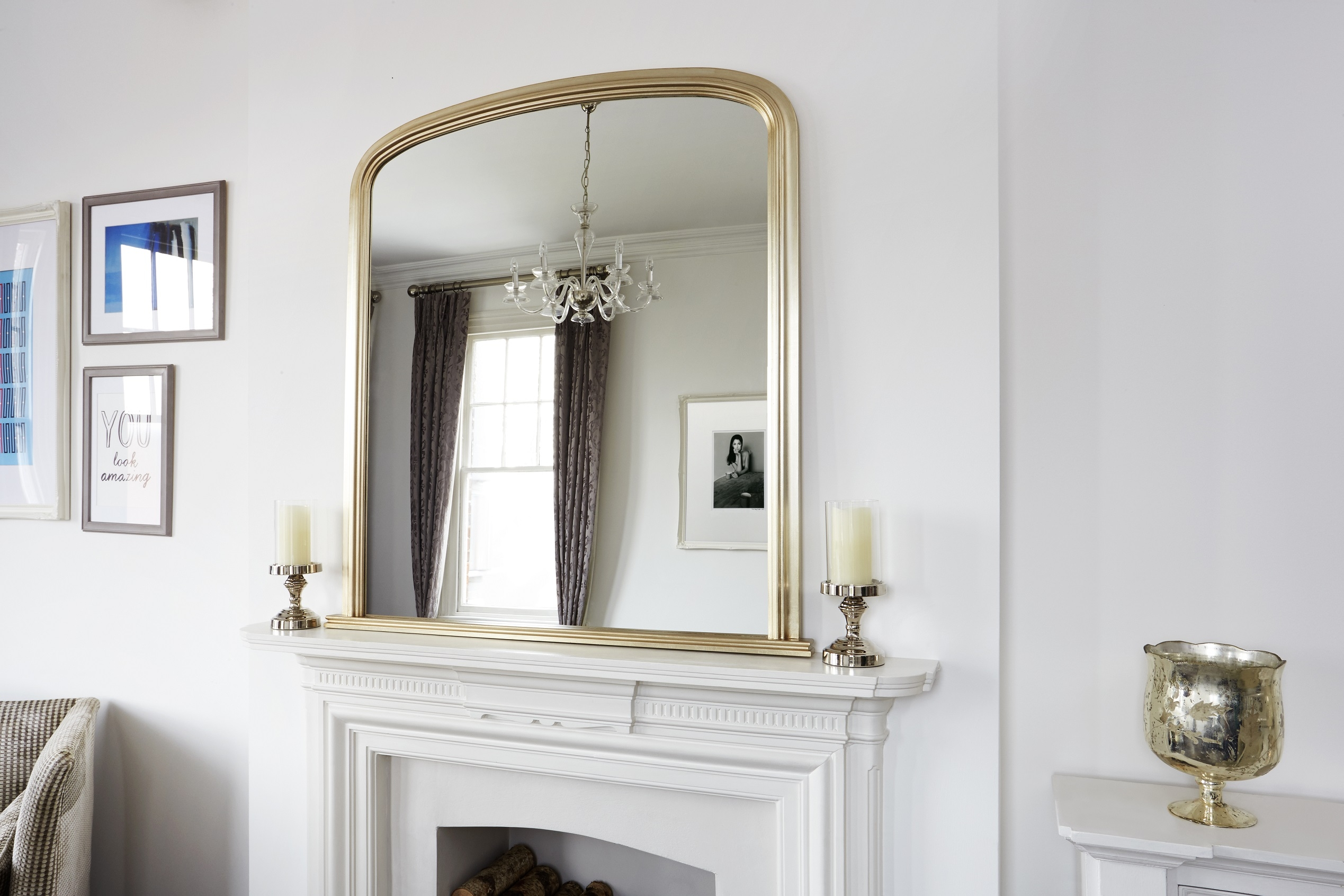 Sofa How To Choose The Best Mirror For Your Space Within Mantelpiece Mirror (Image 12 of 15)