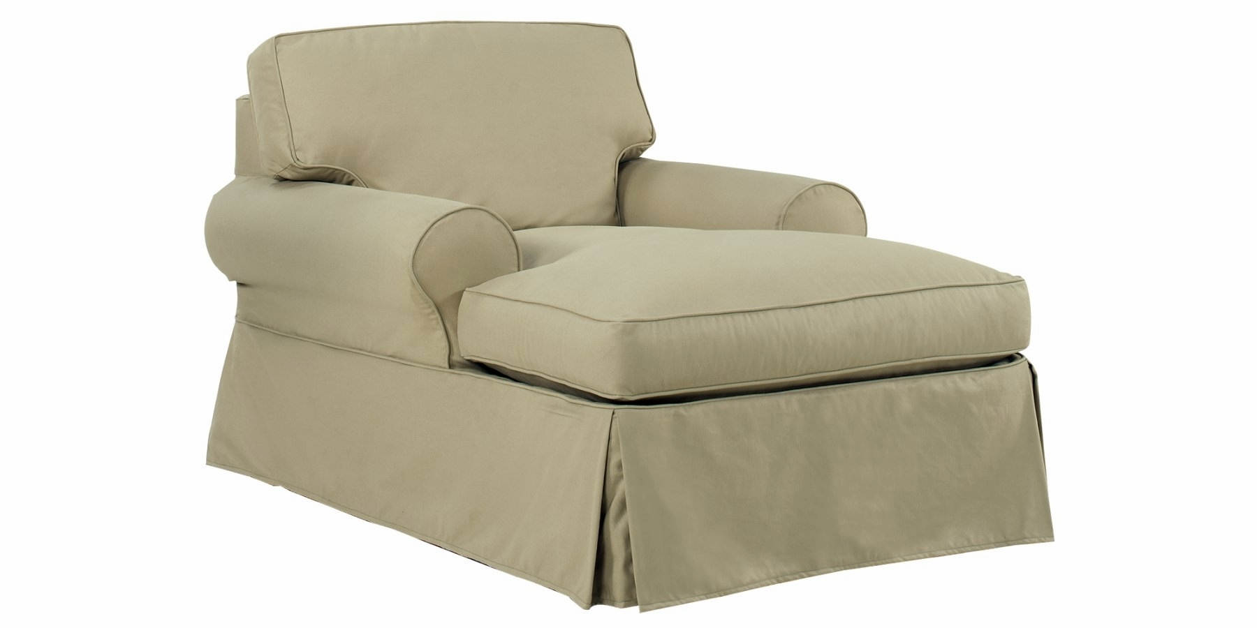 Sofa With Chaise Lounge Slipcover Hereo Sofa Inside Chaise Sofa Covers (Image 14 of 15)