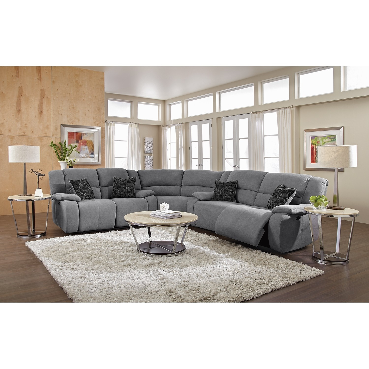 Sofas Center Fascinating Curved Reclining Sofa Photo Design With Regard To Curved Recliner Sofa (Image 14 of 15)