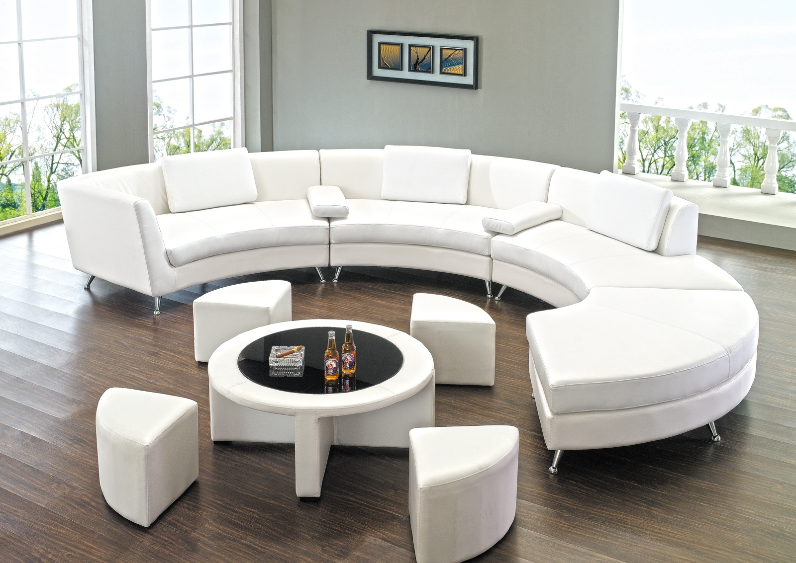 Sofas Center Stirring Circle Sectional Sofa Photoncept Circular With Regard To Circle Sectional Sofa (Image 14 of 15)