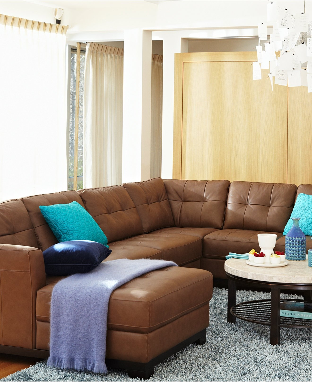 No Rooms Colorful Furniture: Colorful Sectional Sofas